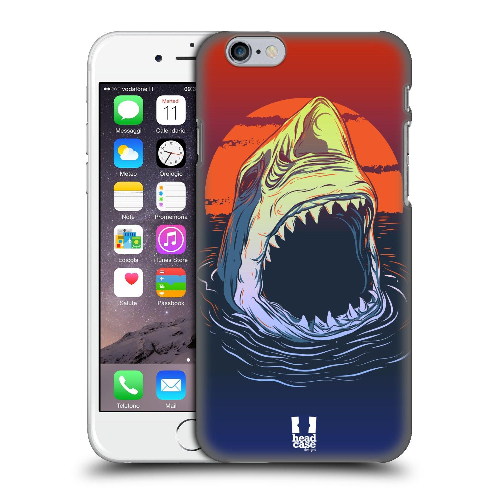 Plastové pouzdro pro mobil Apple Iphone 6/6S vzor mořská monstra žralok