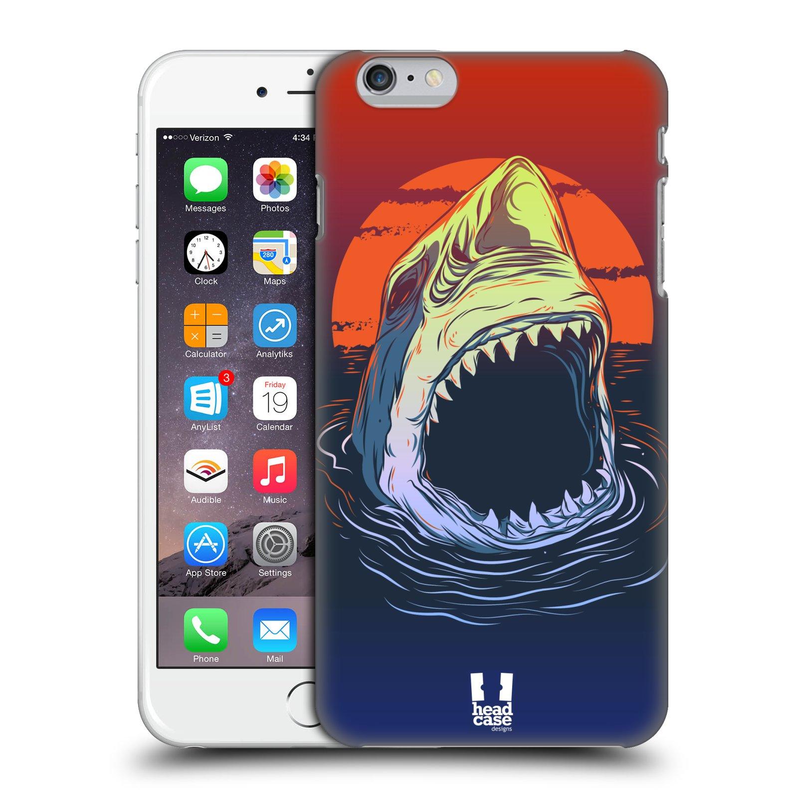Plastové pouzdro pro mobil Apple Iphone 6 PLUS / 6S PLUS vzor mořská monstra žralok