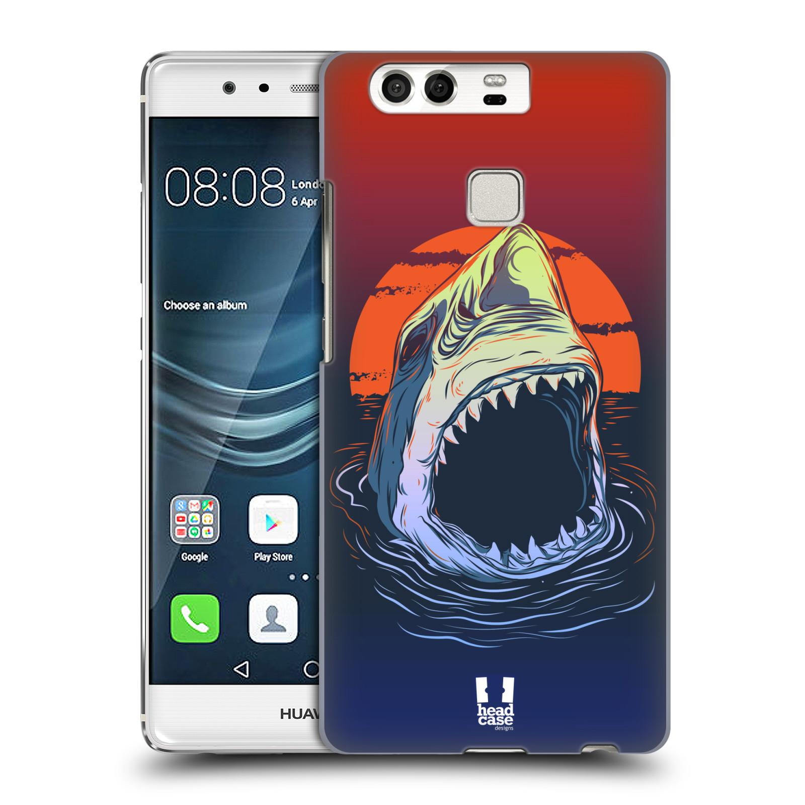 HEAD CASE plastový obal na mobil Huawei P9 / P9 DUAL SIM vzor mořská monstra žralok