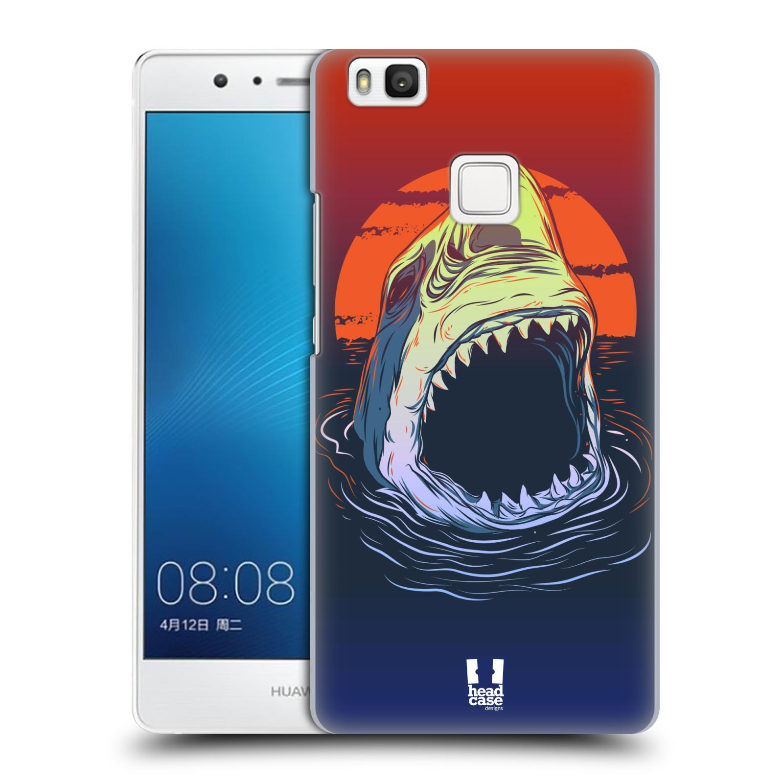 HEAD CASE plastový obal na mobil Huawei P9 LITE / P9 LITE DUAL SIM vzor mořská monstra žralok