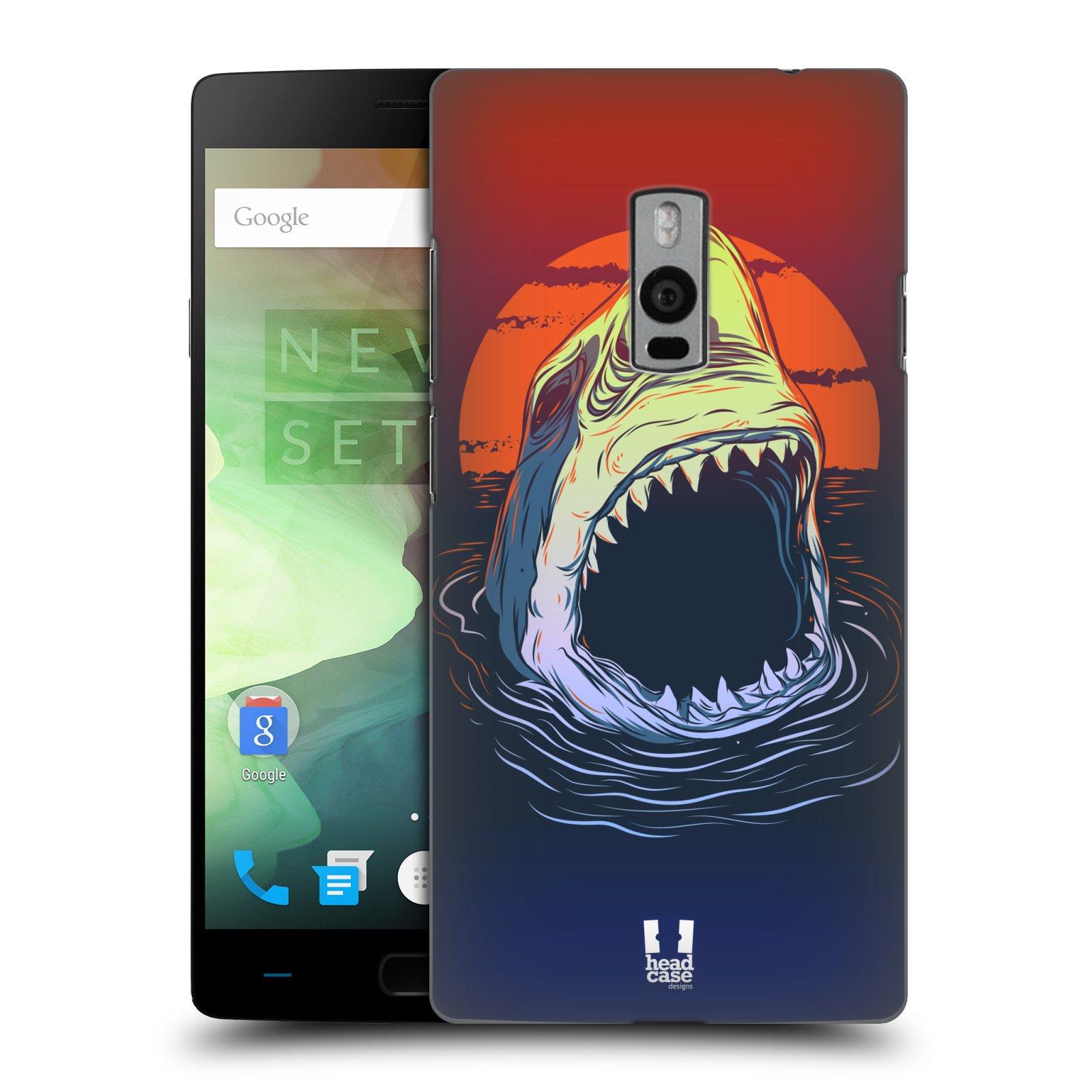 HEAD CASE pevný plastový obal na mobil OnePlus 2  ( TWO ) vzor mořská monstra žralok
