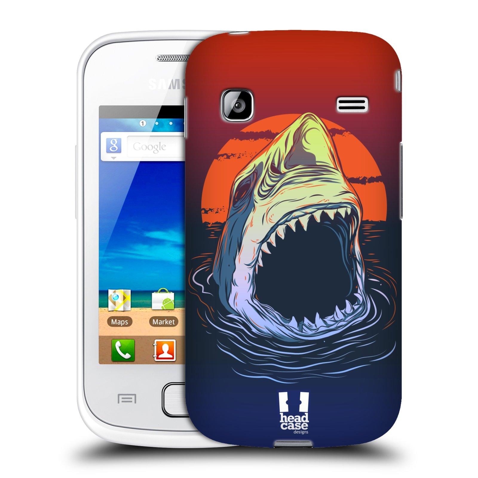HEAD CASE plastový obal na mobil SAMSUNG GALAXY GIO (S5660) vzor mořská monstra žralok