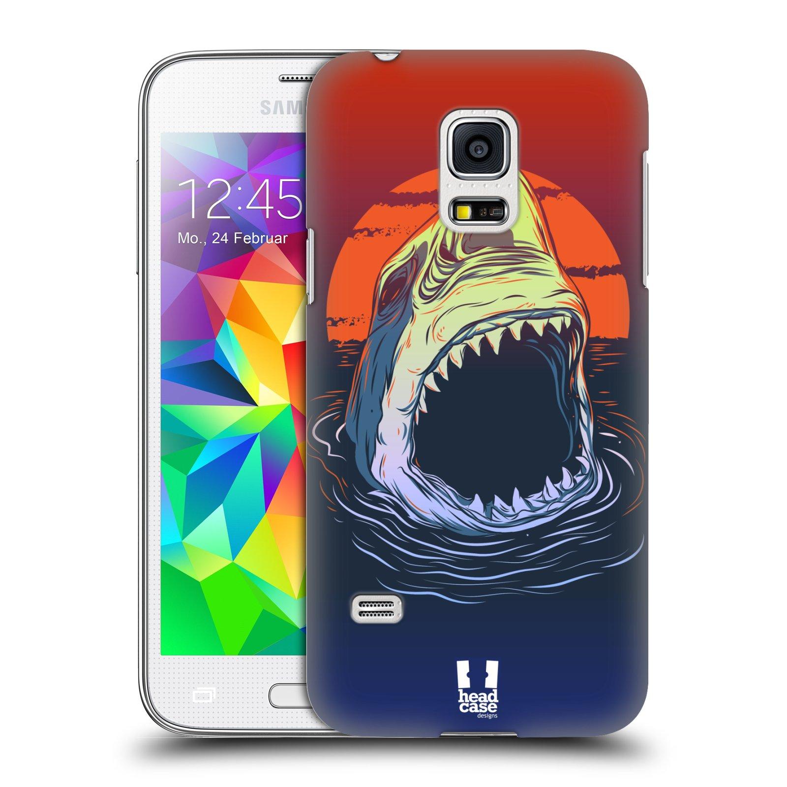 HEAD CASE plastový obal na mobil SAMSUNG Galaxy S5 MINI / S5 MINI DUOS vzor mořská monstra žralok