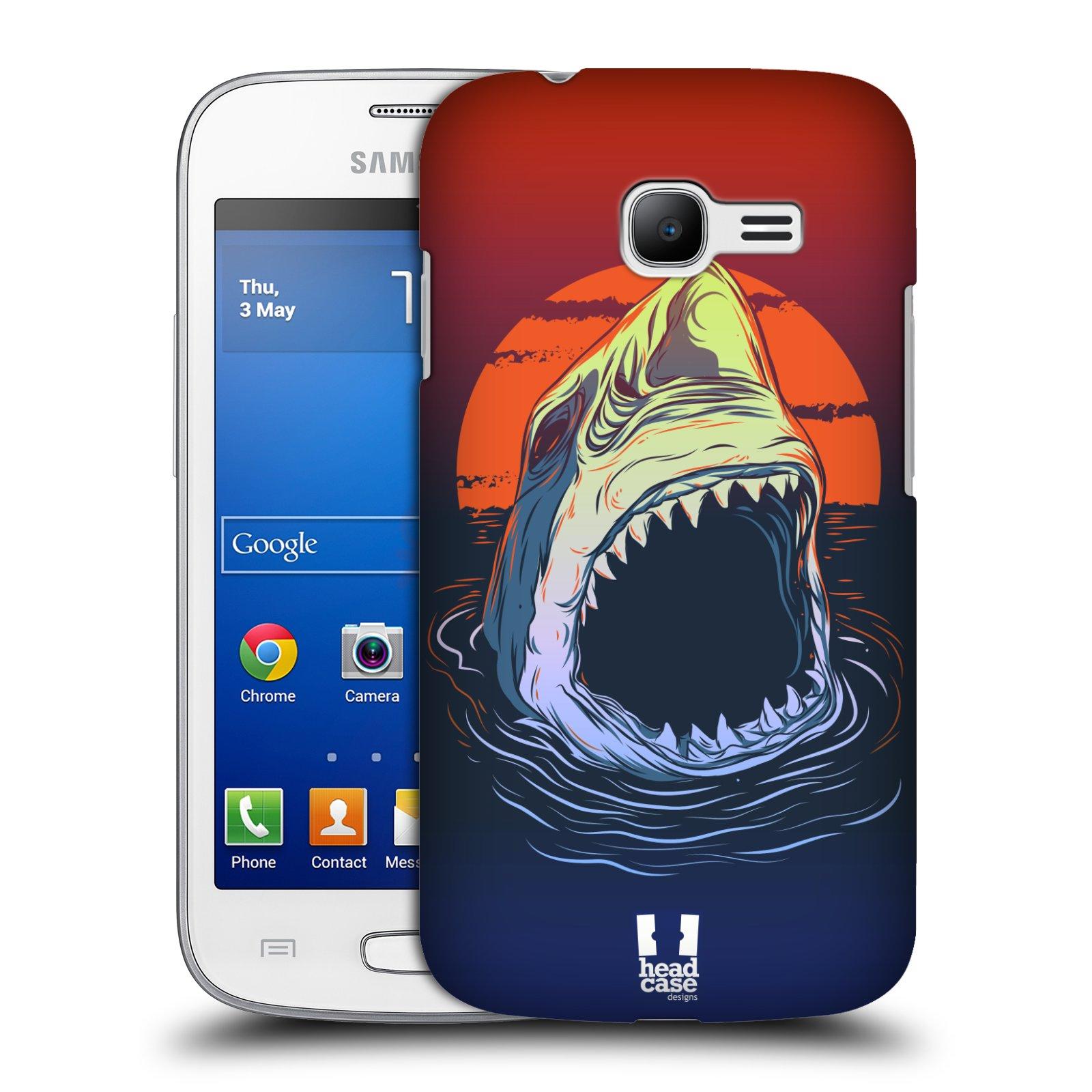 HEAD CASE plastový obal na mobil SAMSUNG GALAXY Star Pro S7260/S7262 DUOS vzor mořská monstra žralok