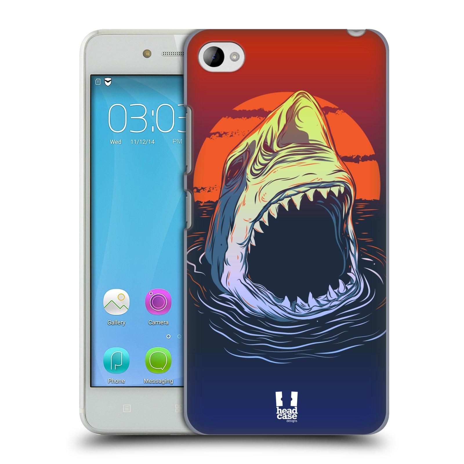 HEAD CASE pevný plastový obal na mobil LENOVO S90 vzor mořská monstra žralok