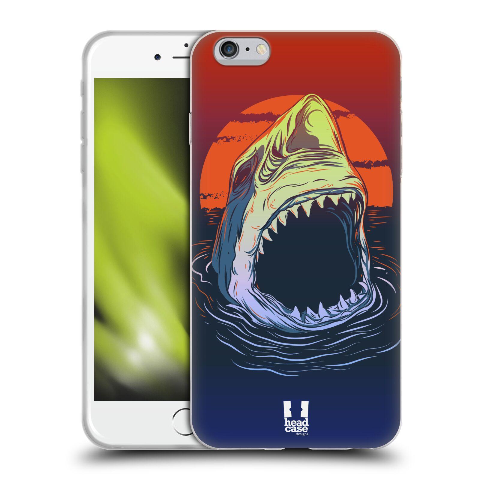 HEAD CASE silikonový obal na mobil Apple Iphone 6 PLUS/ 6S PLUS vzor mořská monstra žralok