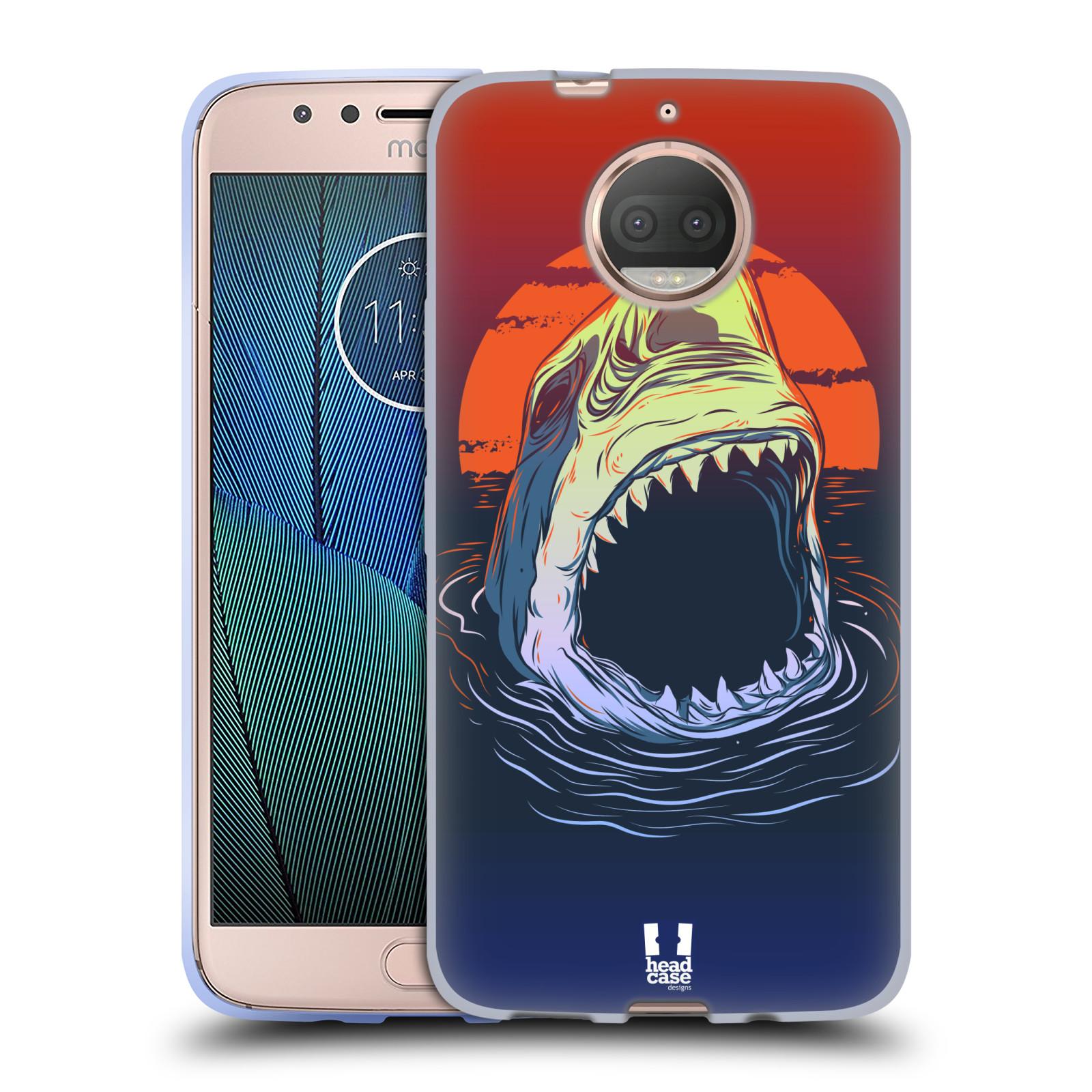 HEAD CASE silikonový obal na mobil Lenovo Moto G5s PLUS vzor mořská monstra žralok