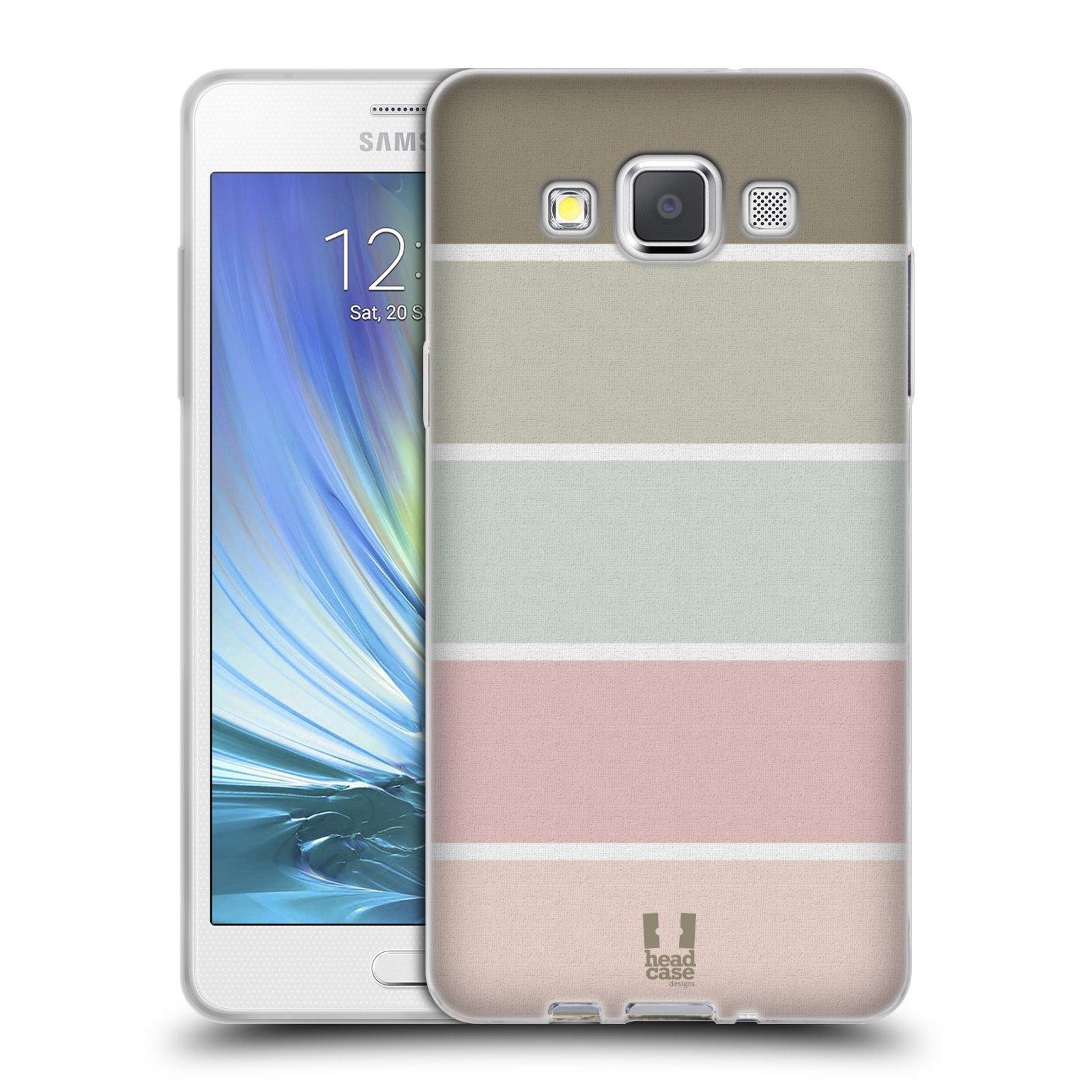 HEAD CASE silikonový obal na mobil Samsung Galaxy A5 Francouzský motiv venkov paleta barev