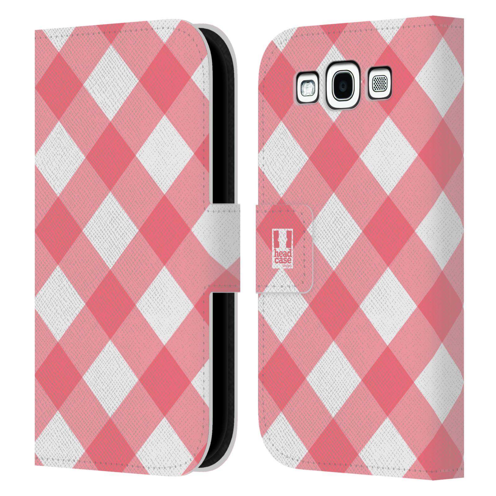 HEAD CASE Flipové pouzdro pro mobil Samsung Galaxy S3 Francouzský venkov piknik růžová
