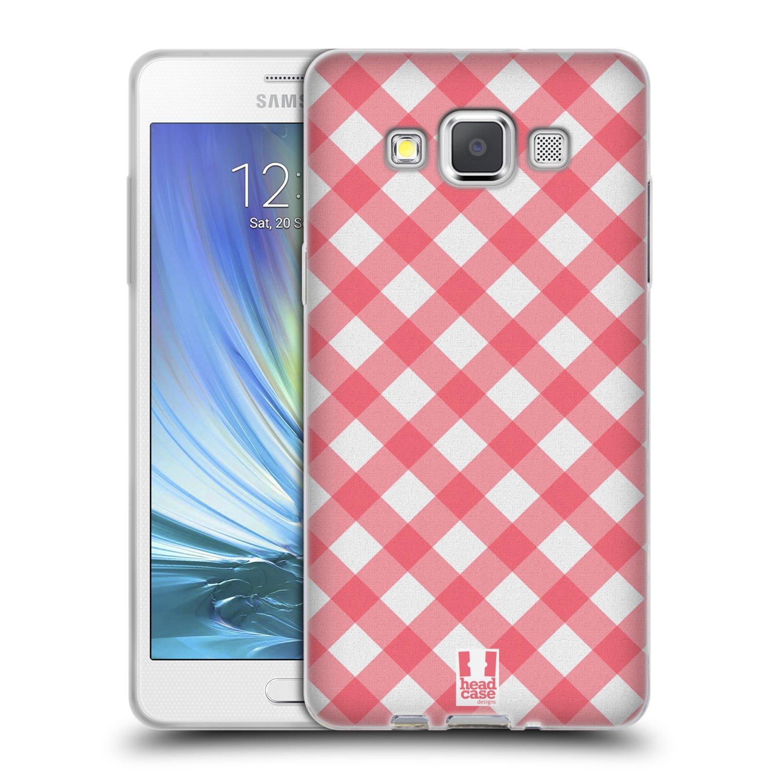 HEAD CASE silikonový obal na mobil Samsung Galaxy A5 Francouzský motiv venkov piknik