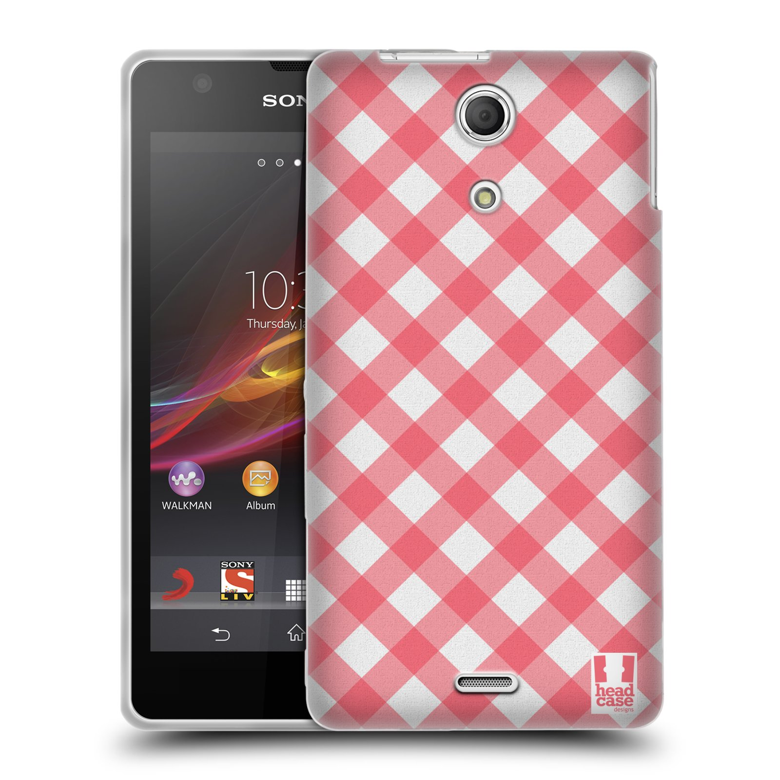 HEAD CASE FRENCH COUNTRY PATTERNS SILICONE GEL CASE FOR SONY XPERIA ZR