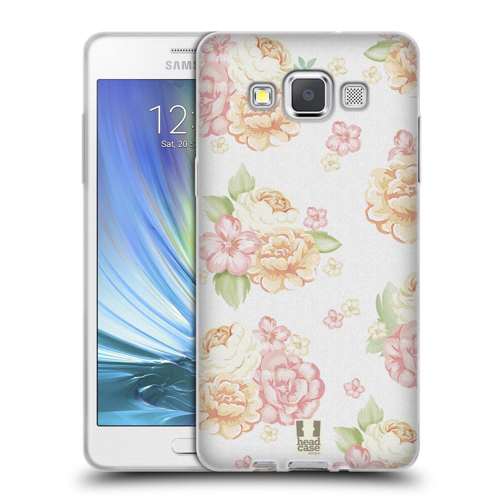 HEAD CASE silikonový obal na mobil Samsung Galaxy A5 Francouzský motiv venkov bílá