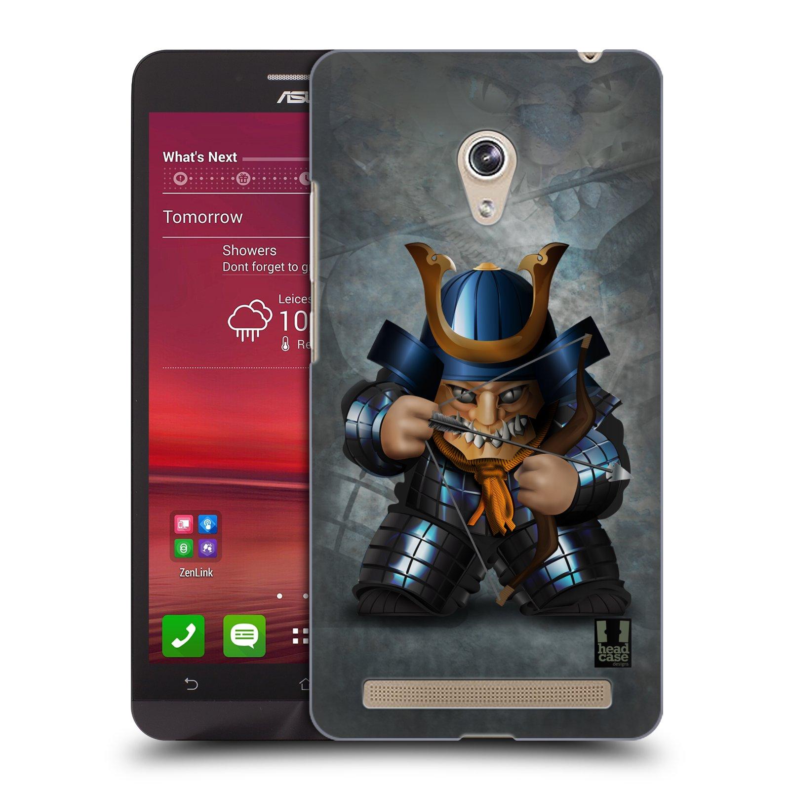 HEAD CASE plastový obal na mobil Asus Zenfone 6 vzor Malí bojovníci SHOGUN STŘELEC