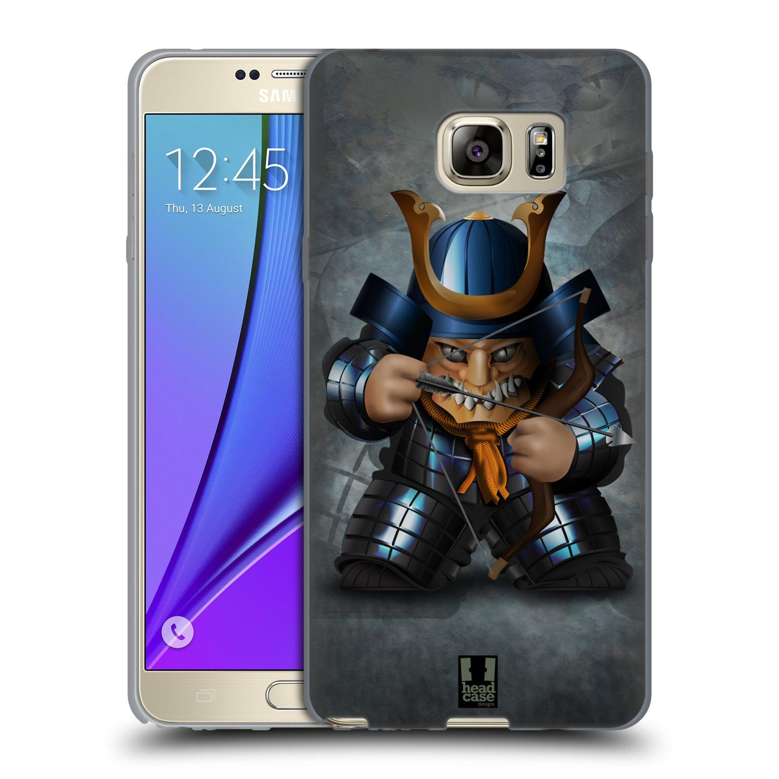 HEAD CASE silikonový obal na mobil Samsung Galaxy Note 5 (N920) vzor Malí bojovníci SHOGUN STŘELEC
