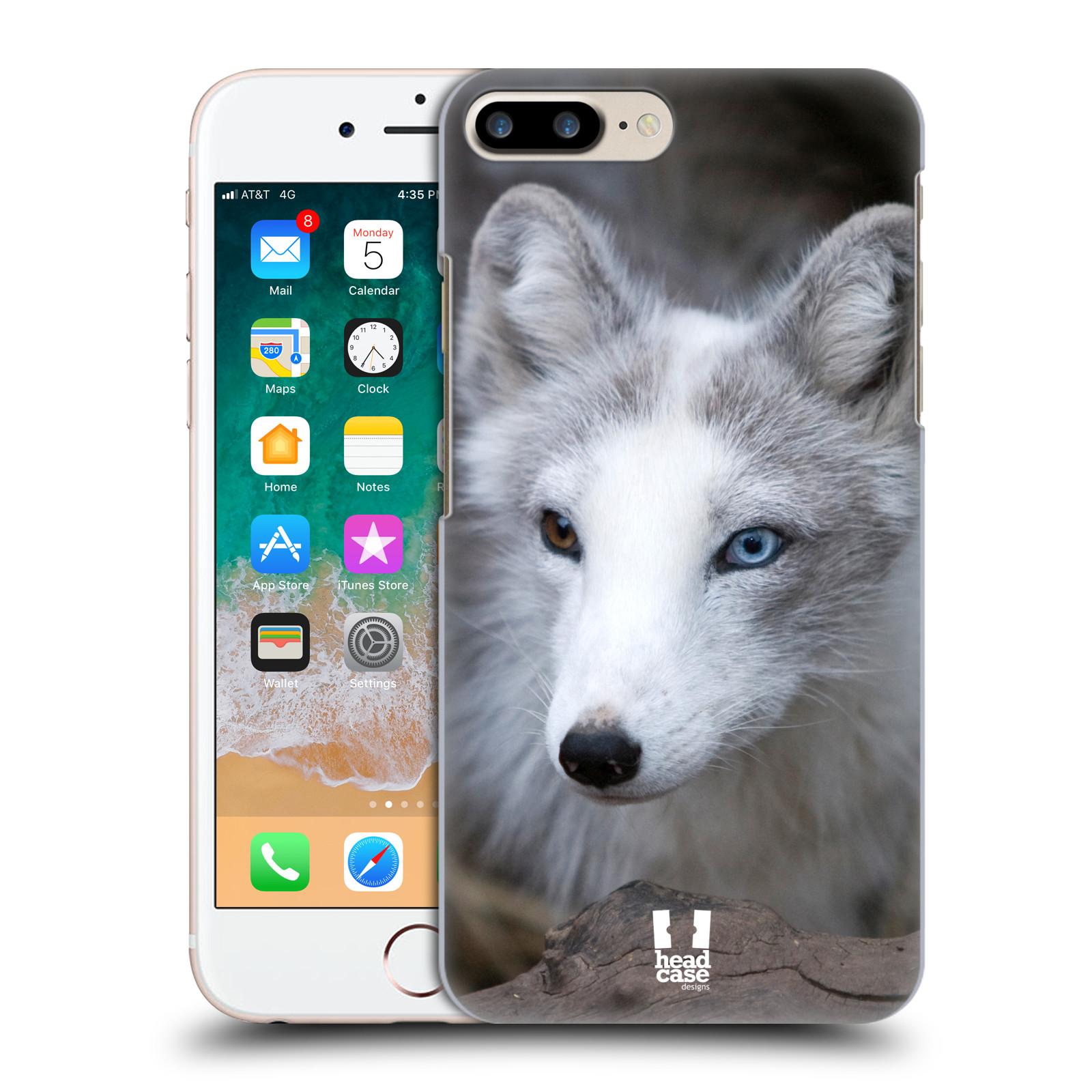 HEAD CASE plastový obal na mobil Apple Iphone 7 PLUS vzor slavná zvířata foto  Liška polární