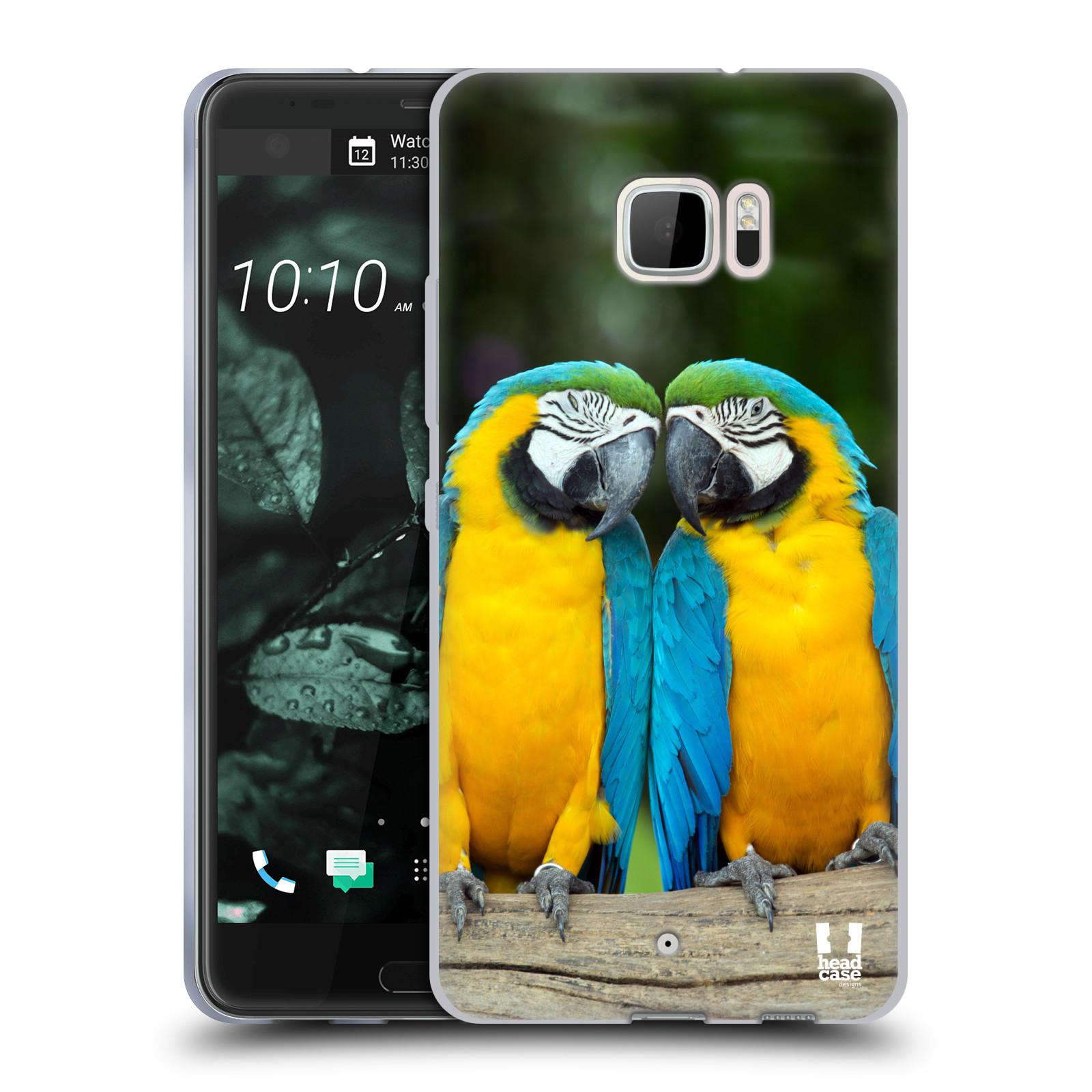 HEAD-CASE-DESIGNS-FAMOUS-ANIMALS-SOFT-GEL-CASE-FOR-HTC-U-ULTRA