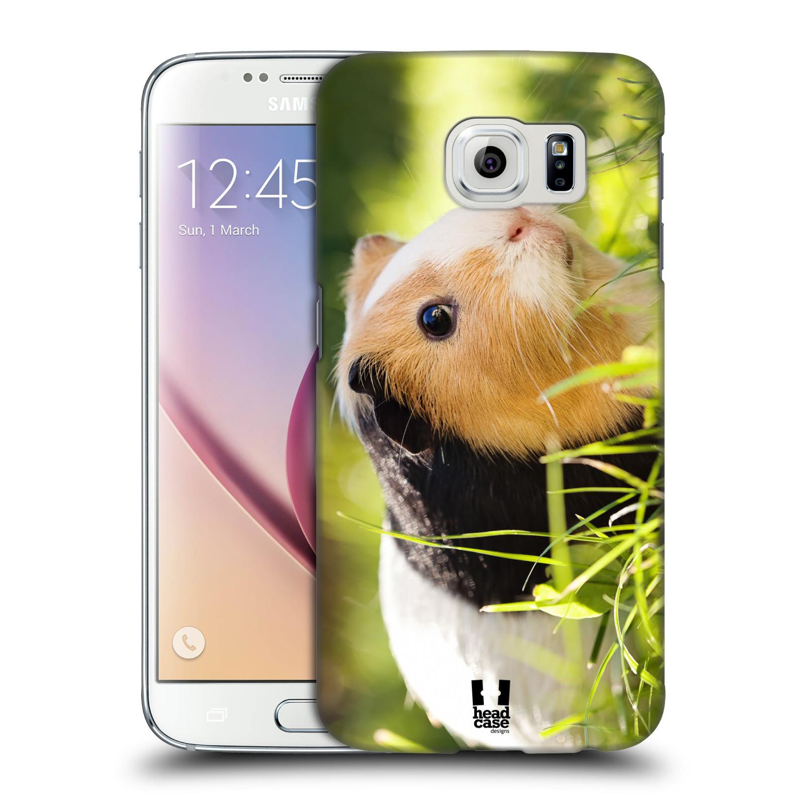 HEAD CASE plastový obal na mobil SAMSUNG Galaxy S6 (G9200, G920F) vzor slavná zvířata foto morče