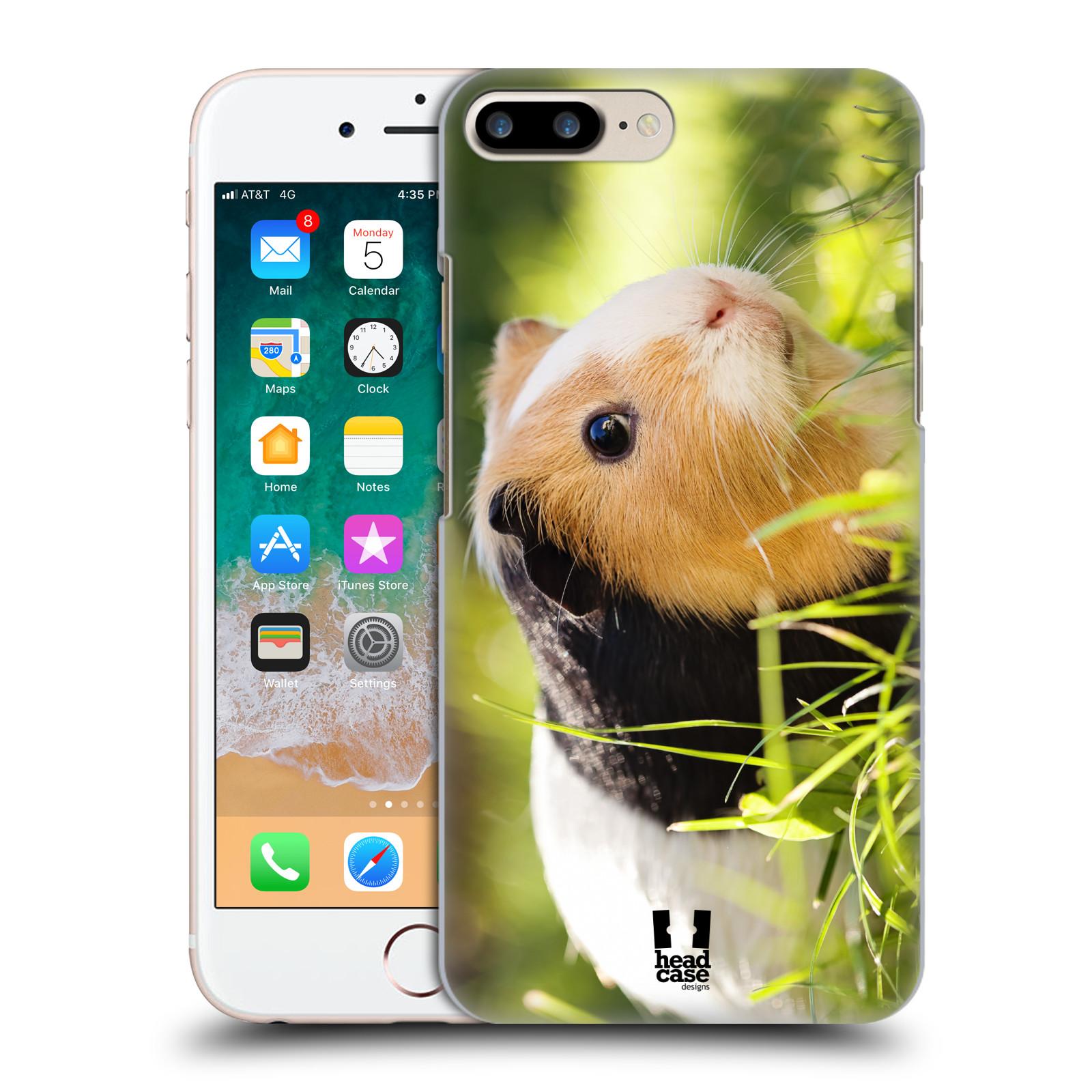 HEAD CASE plastový obal na mobil Apple Iphone 7 PLUS vzor slavná zvířata foto morče