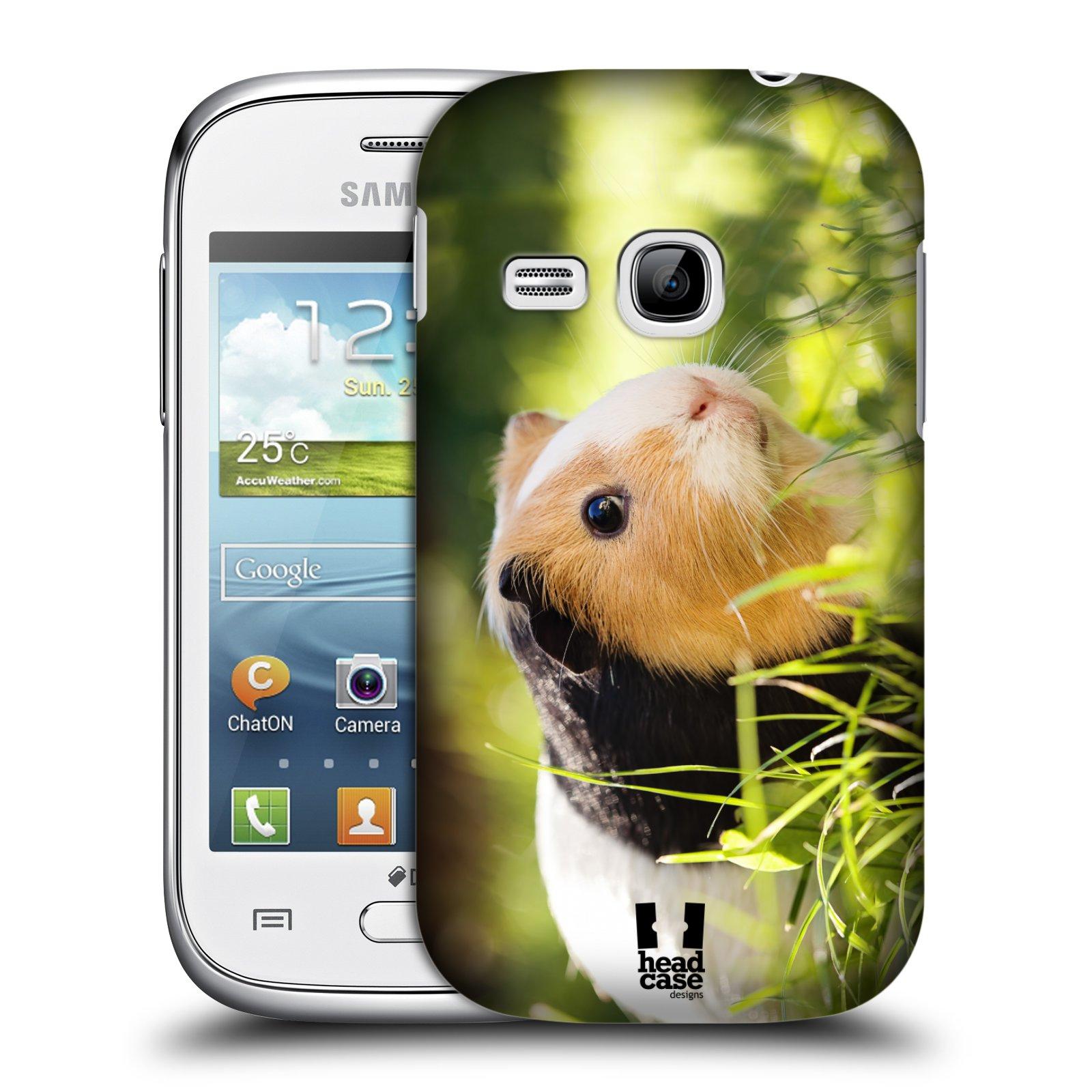 HEAD CASE plastový obal na mobil SAMSUNG Galaxy Young S6310 vzor slavná zvířata foto morče