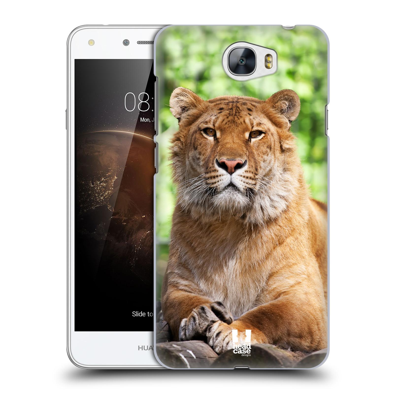 HEAD CASE plastový obal na mobil Huawei Y6 II Compact vzor slavná zvířata foto tygr