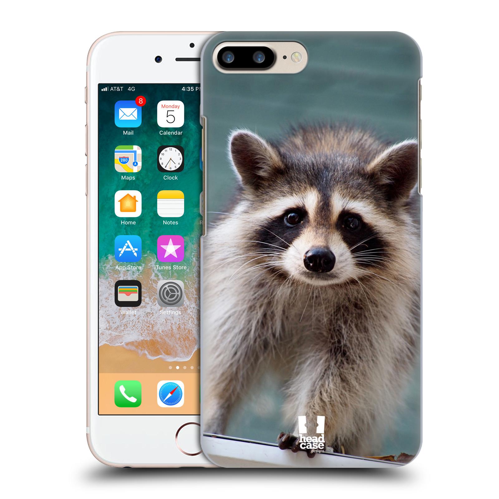 HEAD CASE plastový obal na mobil Apple Iphone 7 PLUS vzor slavná zvířata foto malý mýval