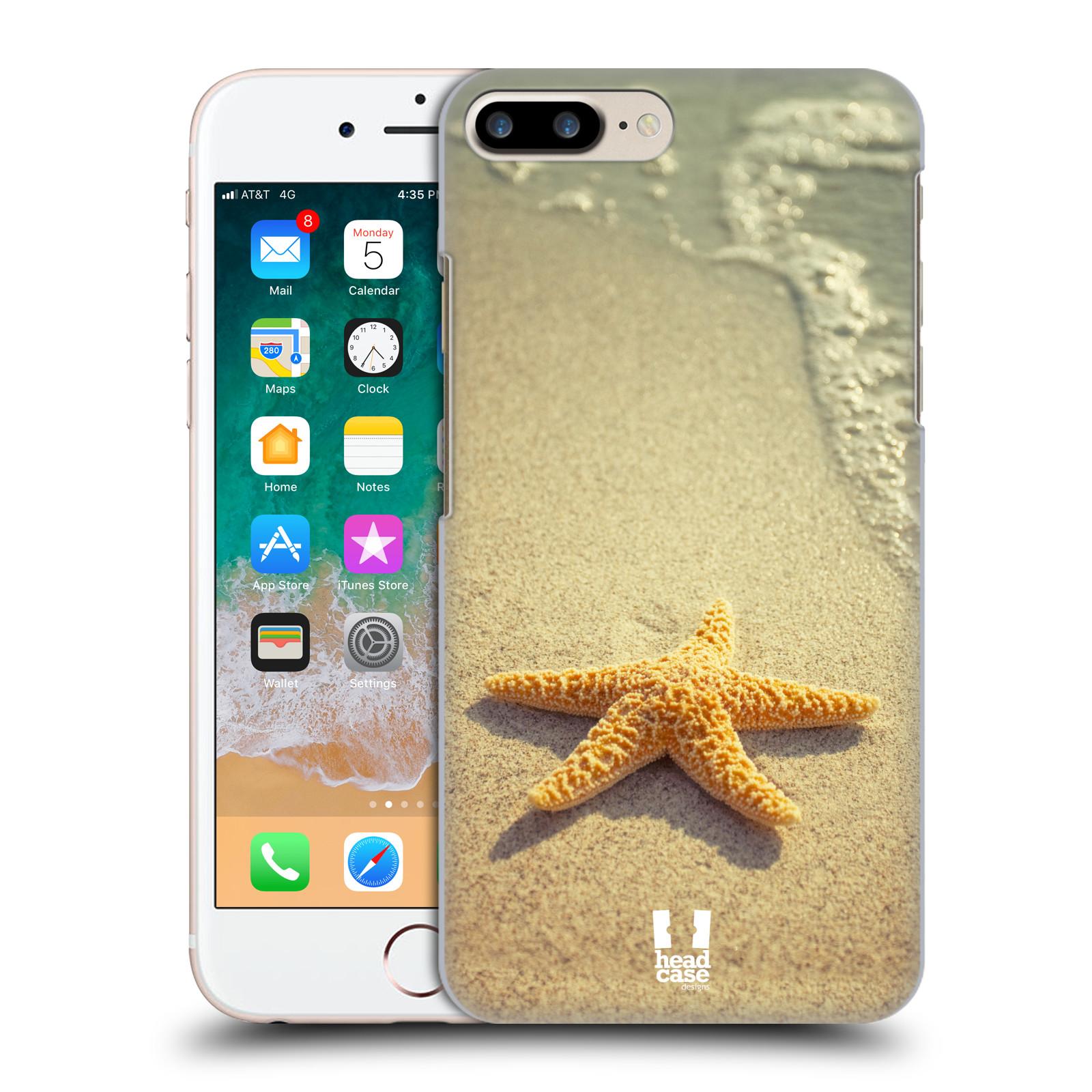 HEAD CASE plastový obal na mobil Apple Iphone 7 PLUS vzor slavná zvířata foto hvězda na břehu