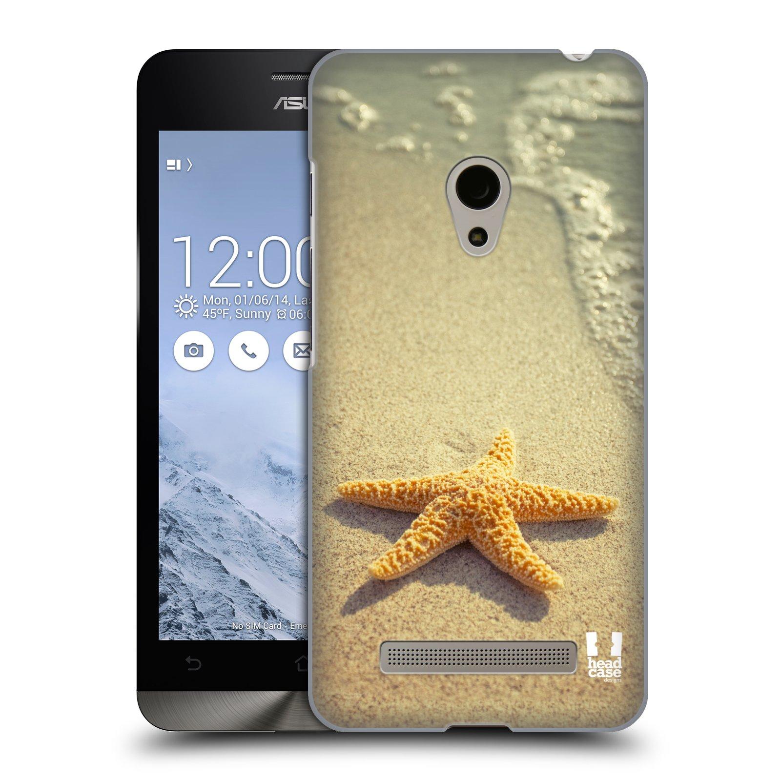 HEAD CASE plastový obal na mobil Asus Zenfone 5 vzor slavná zvířata foto hvězda na břehu