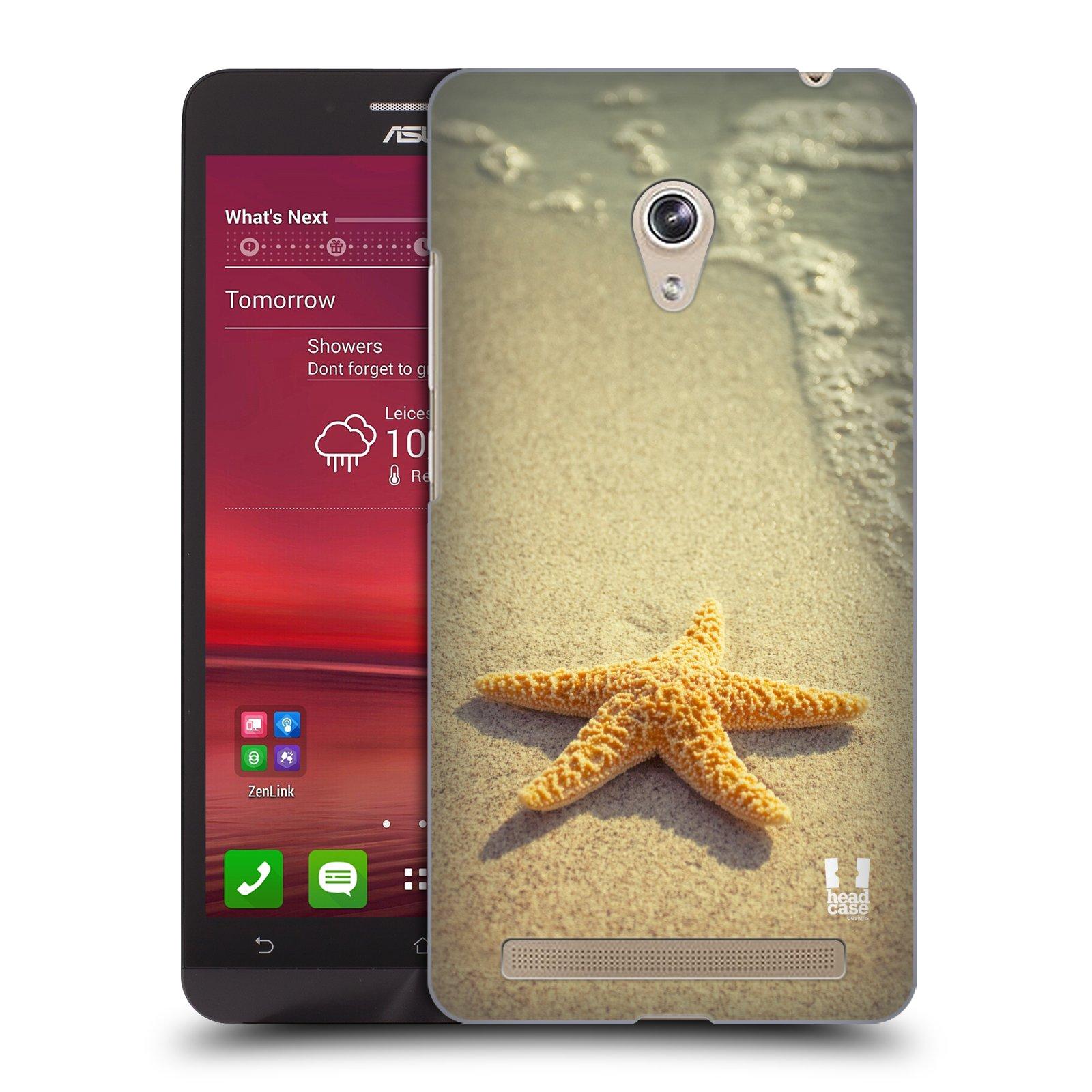 HEAD CASE plastový obal na mobil Asus Zenfone 6 vzor slavná zvířata foto hvězda na břehu