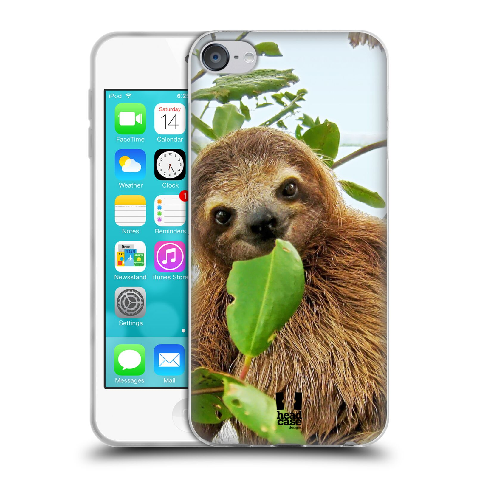 HEAD CASE FAMOUS ANIMALS SOFT GEL CASE FOR APPLE iPOD