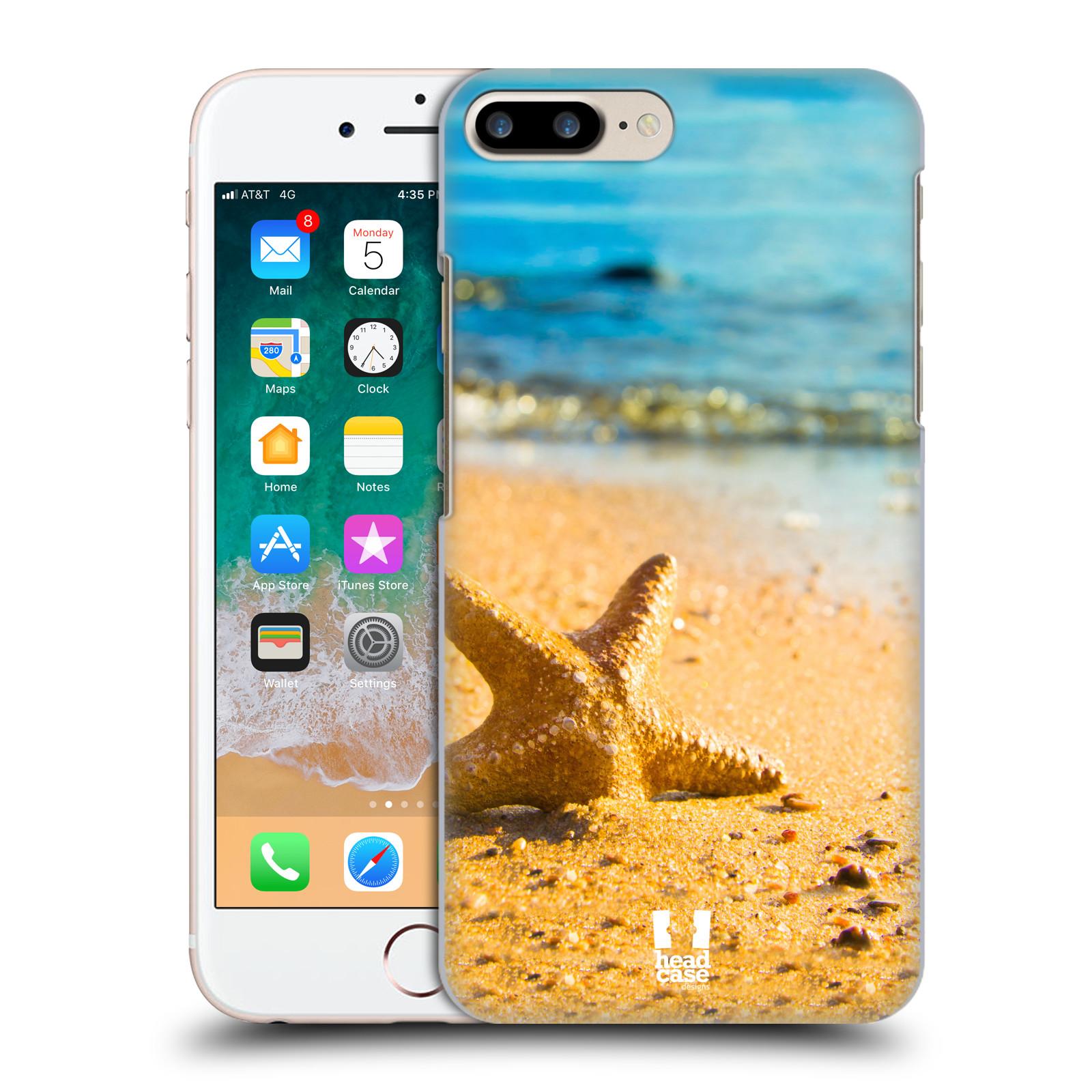 HEAD CASE plastový obal na mobil Apple Iphone 7 PLUS vzor slavná zvířata foto hvězdice v písku