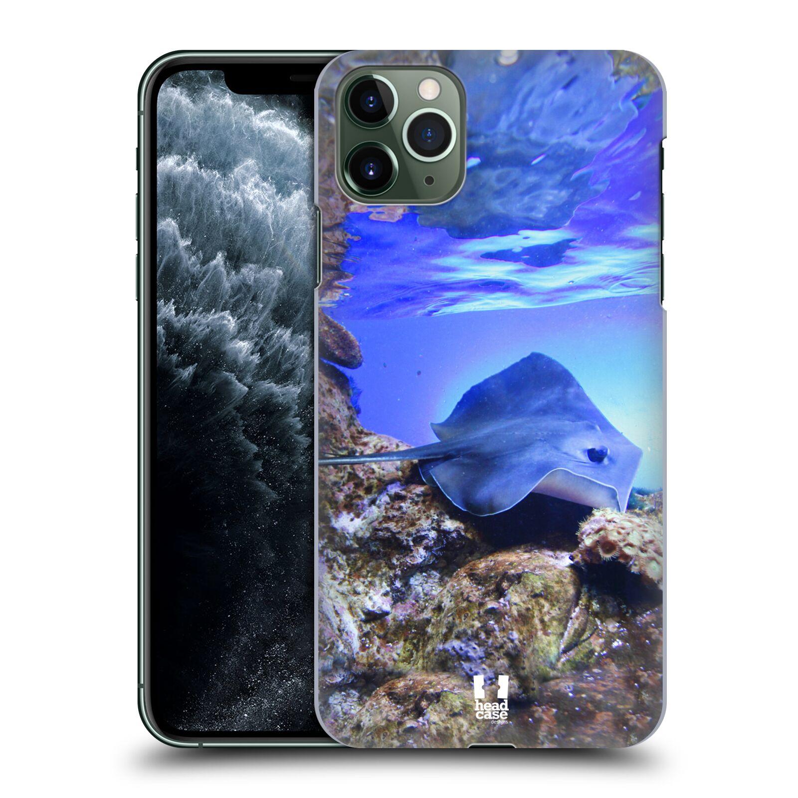 Pouzdro na mobil Apple Iphone 11 PRO MAX - HEAD CASE - vzor slavná zvířata foto rejnok