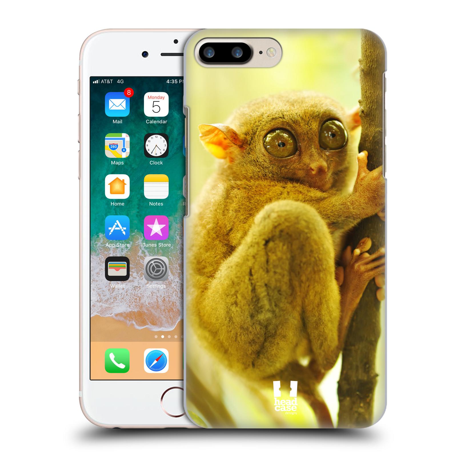 HEAD CASE plastový obal na mobil Apple Iphone 7 PLUS vzor slavná zvířata foto Nártoun
