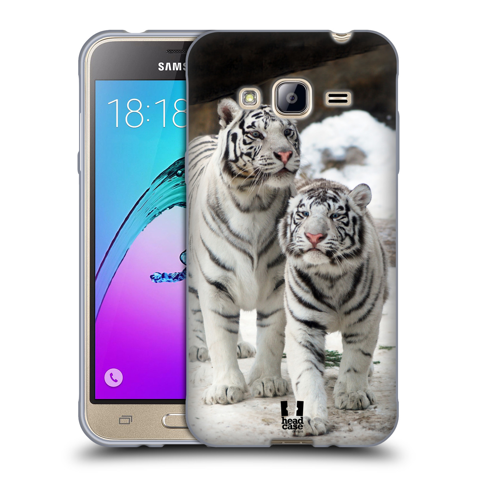 head case designs famous animals soft gel case for samsung galaxy j3 ebay. Black Bedroom Furniture Sets. Home Design Ideas