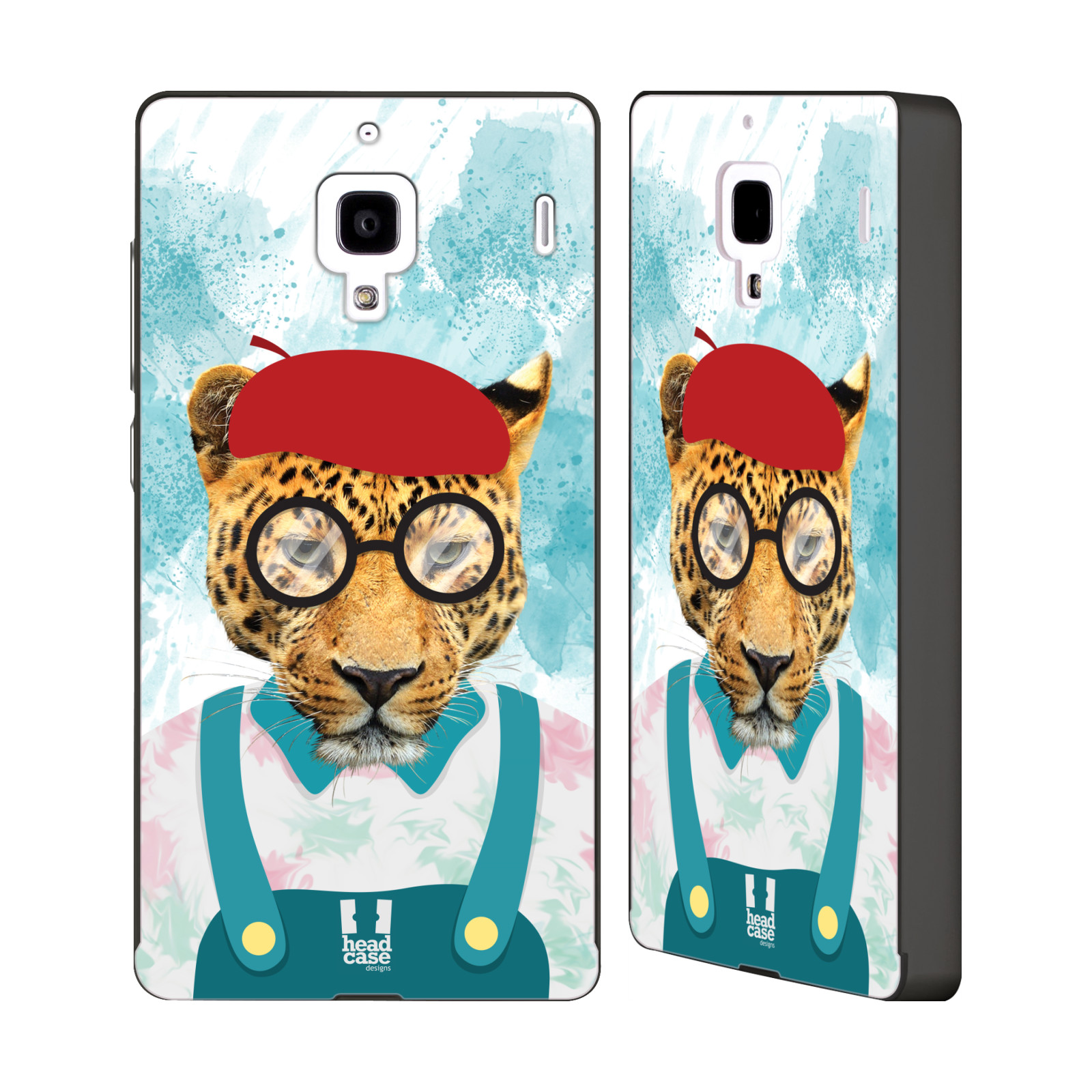 HEAD-CASE-ANIMALS-AND-PROFESSION-BLACK-SLIDER-CASE-FOR-HUAWEI-XIAOMI-PHONES