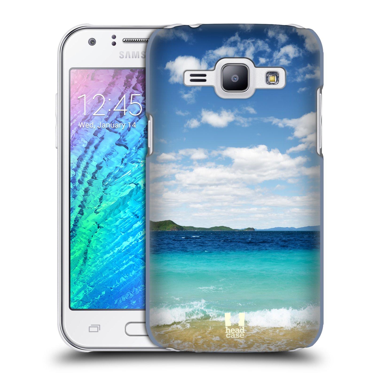 HEAD CASE plastový obal na mobil SAMSUNG Galaxy J1, J100 vzor Pláže a Moře VZDÁLENÝ OSTROV