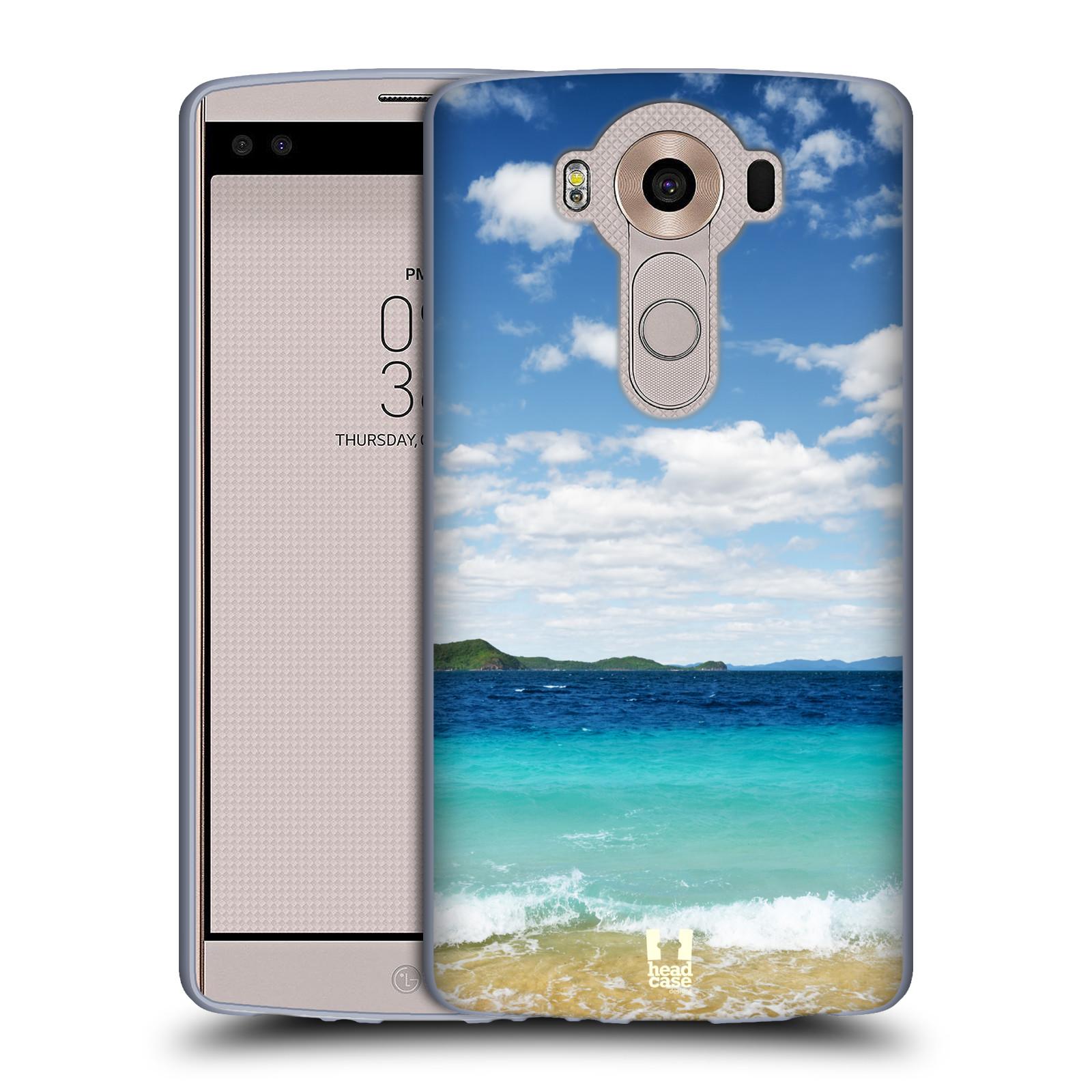HEAD CASE silikonový obal na mobil LG V10 (H960A) vzor Pláže a Moře VZDÁLENÝ OSTROV