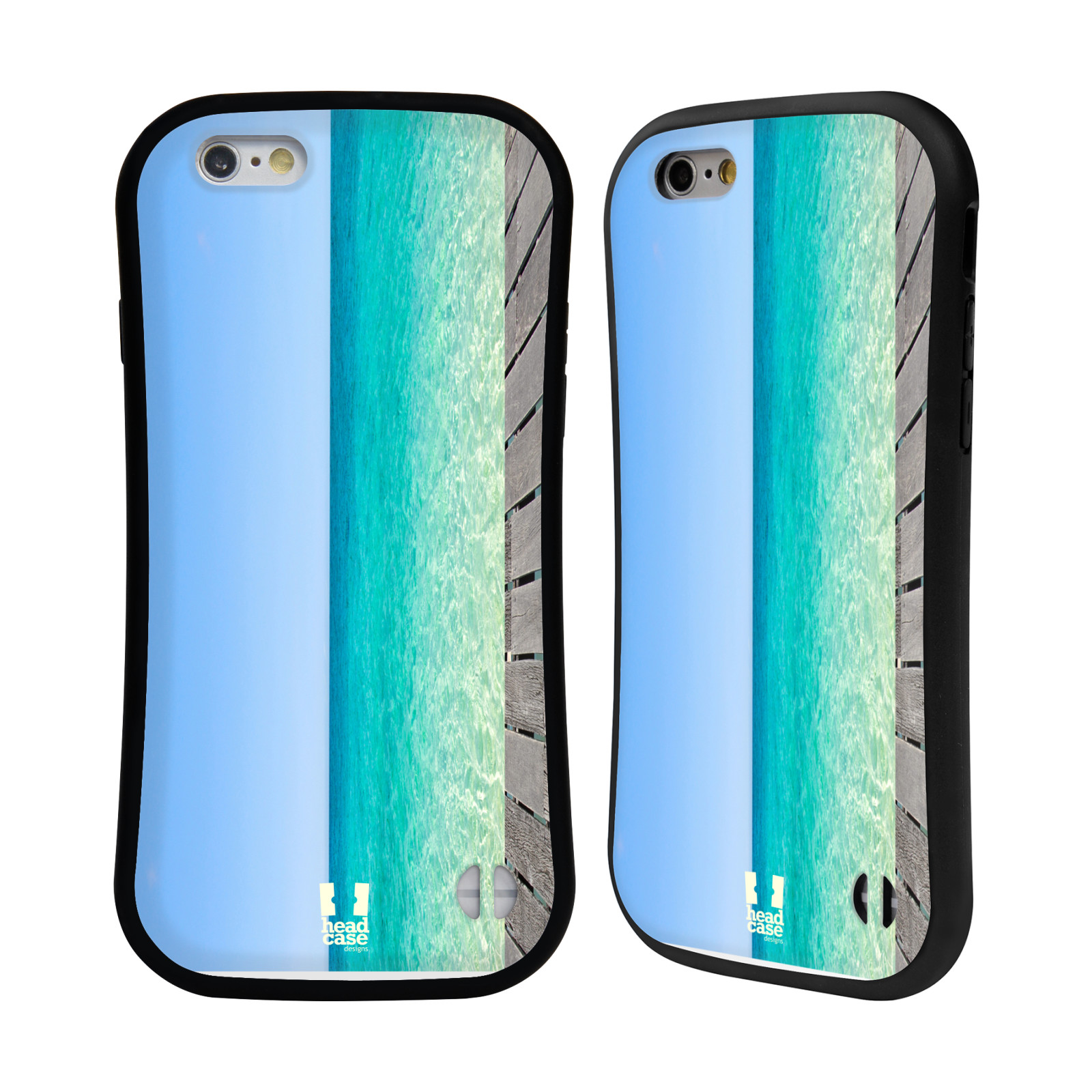 Head case designs beautiful beaches hybrid case for apple for Case design