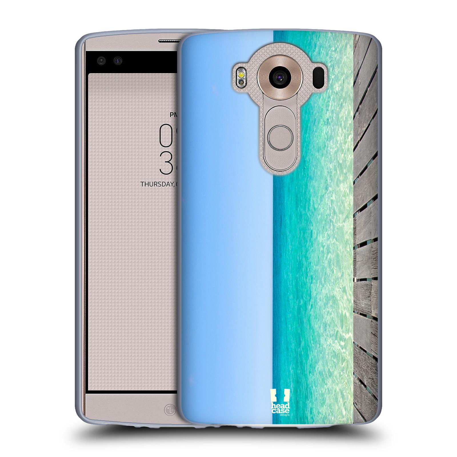 HEAD CASE silikonový obal na mobil LG V10 (H960A) vzor Pláže a Moře MODRÉ NEBE A MOŘE