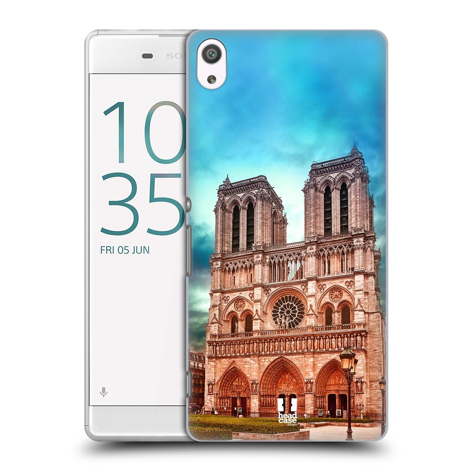 Pouzdro na mobil Sony Xperia XA ULTRA - HEAD CASE - historická místa katedrála Notre Dame