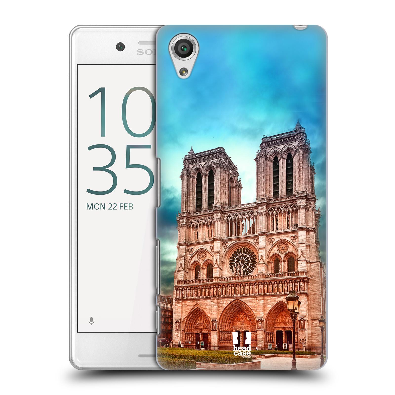 Pouzdro na mobil Sony Xperia X PERFORMANCE - HEAD CASE - historická místa katedrála Notre Dame