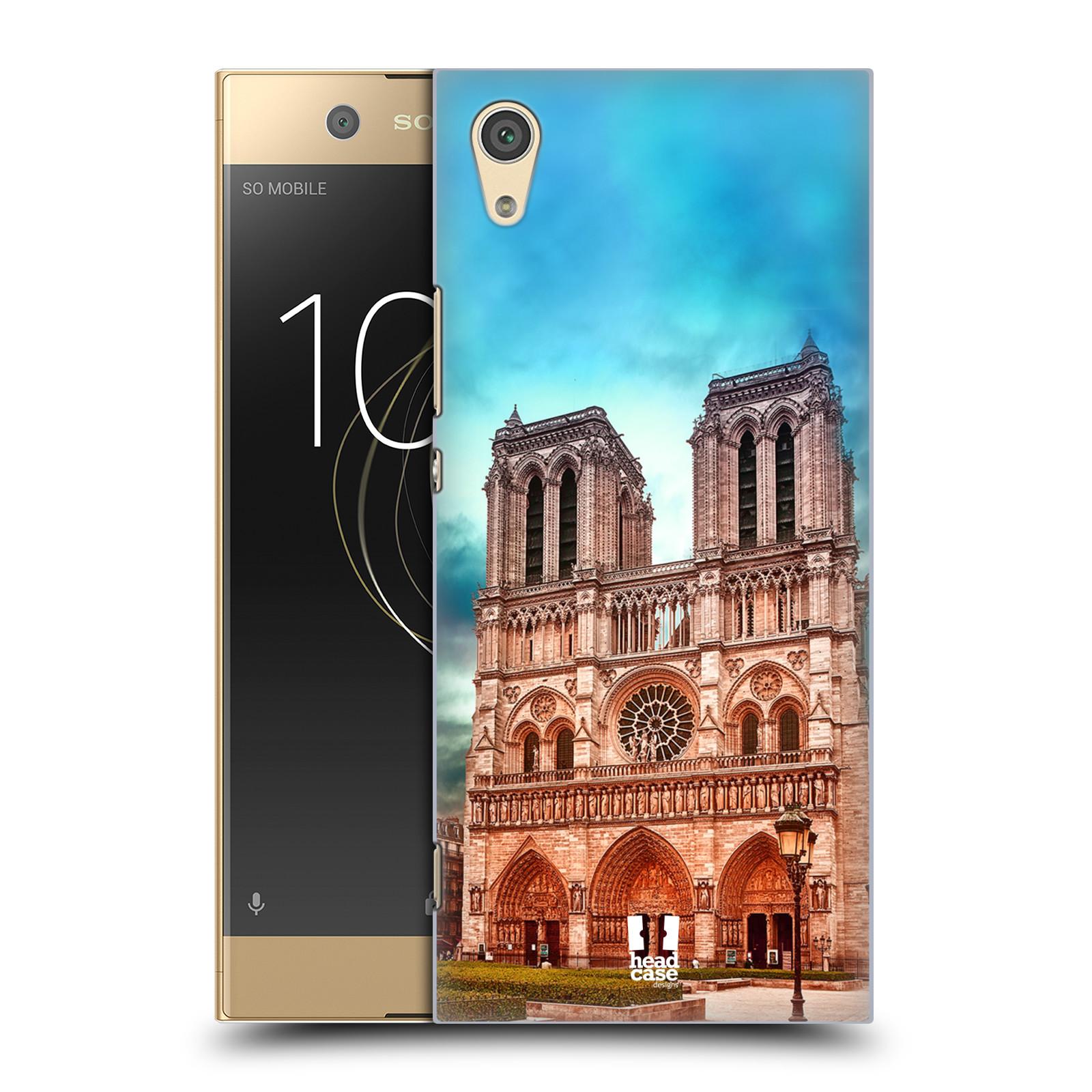 Pouzdro na mobil Sony Xperia XA1 - HEAD CASE - historická místa katedrála Notre Dame