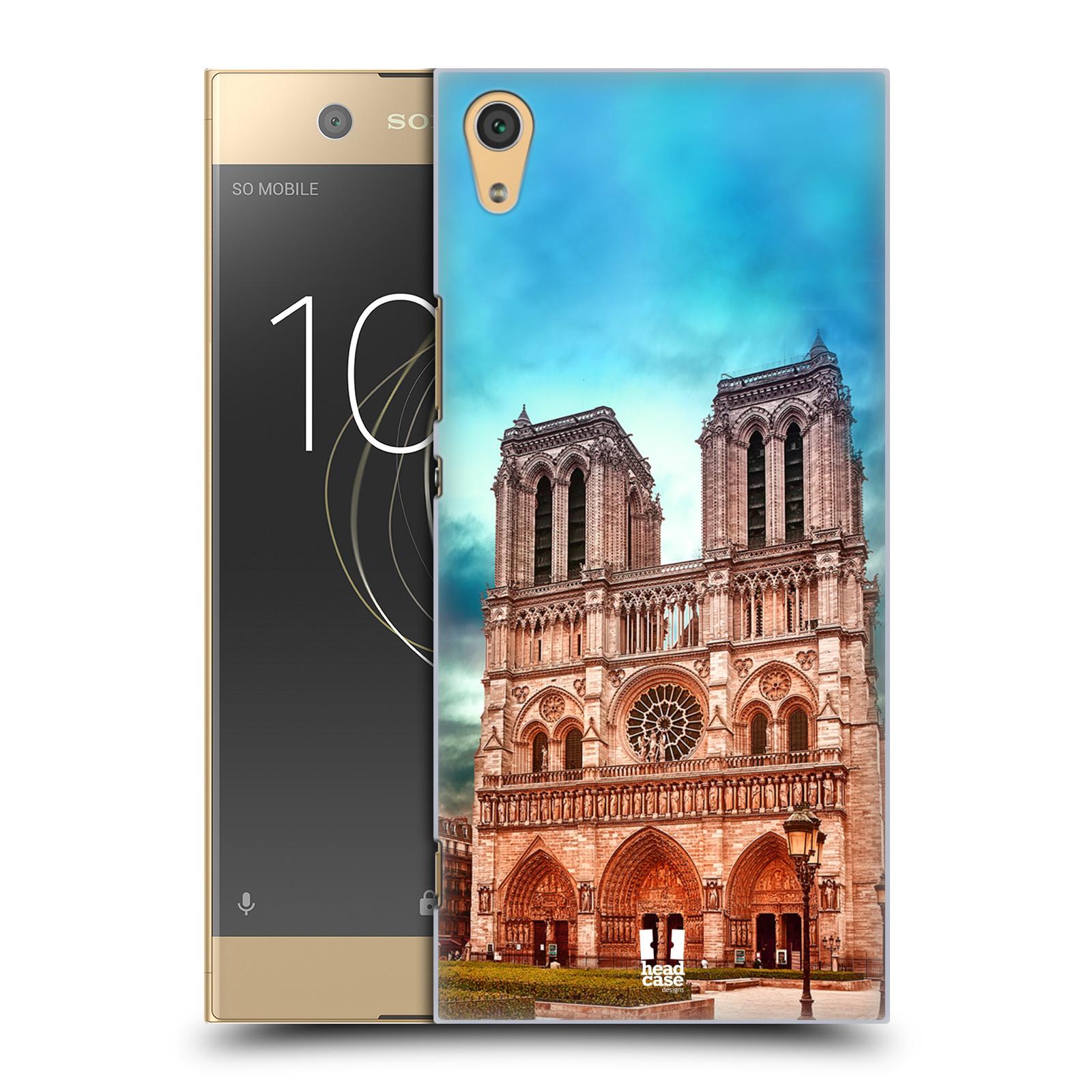 Pouzdro na mobil Sony Xperia XA1 ULTRA - HEAD CASE - historická místa katedrála Notre Dame