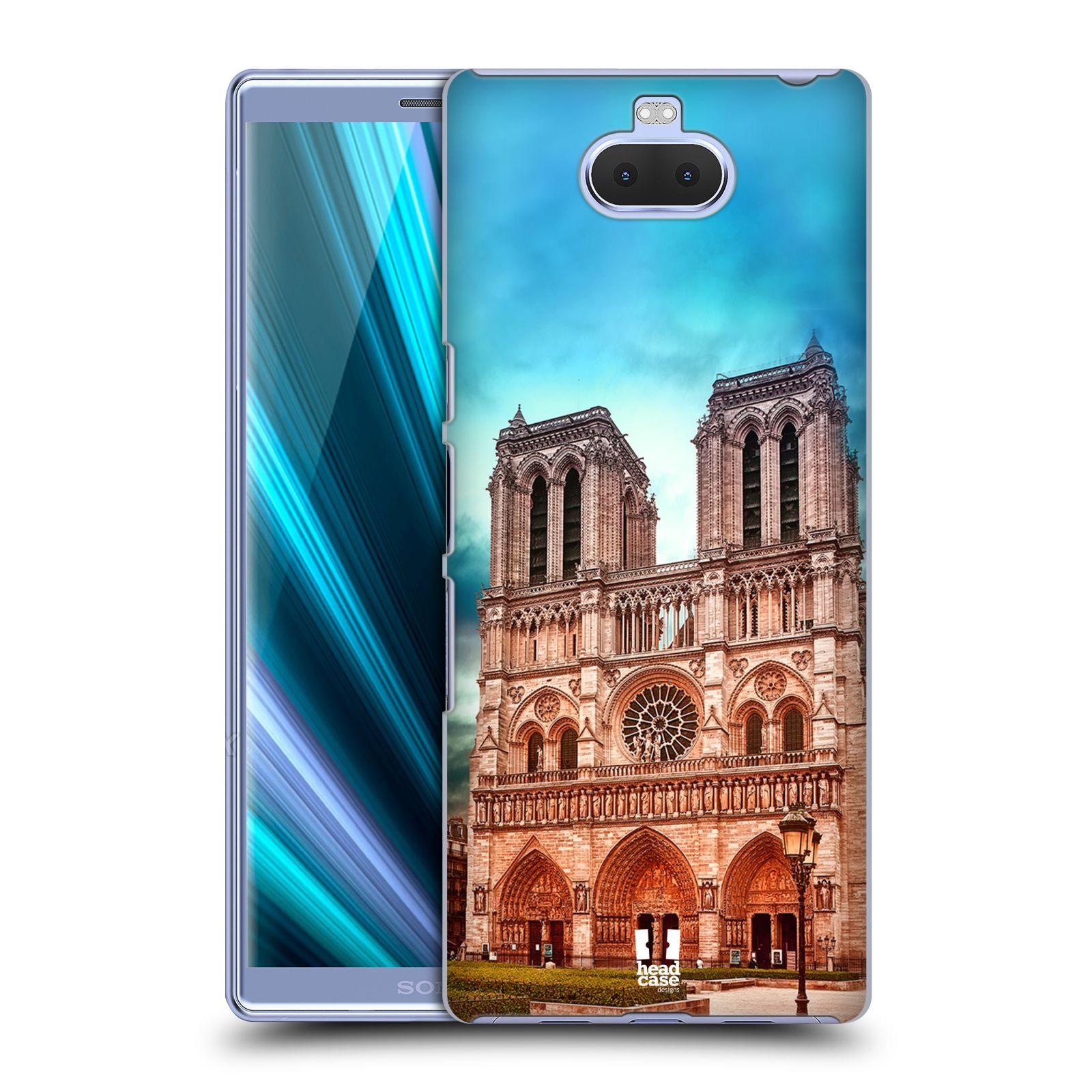 Pouzdro na mobil Sony Xperia 10 Plus - HEAD CASE - historická místa katedrála Notre Dame