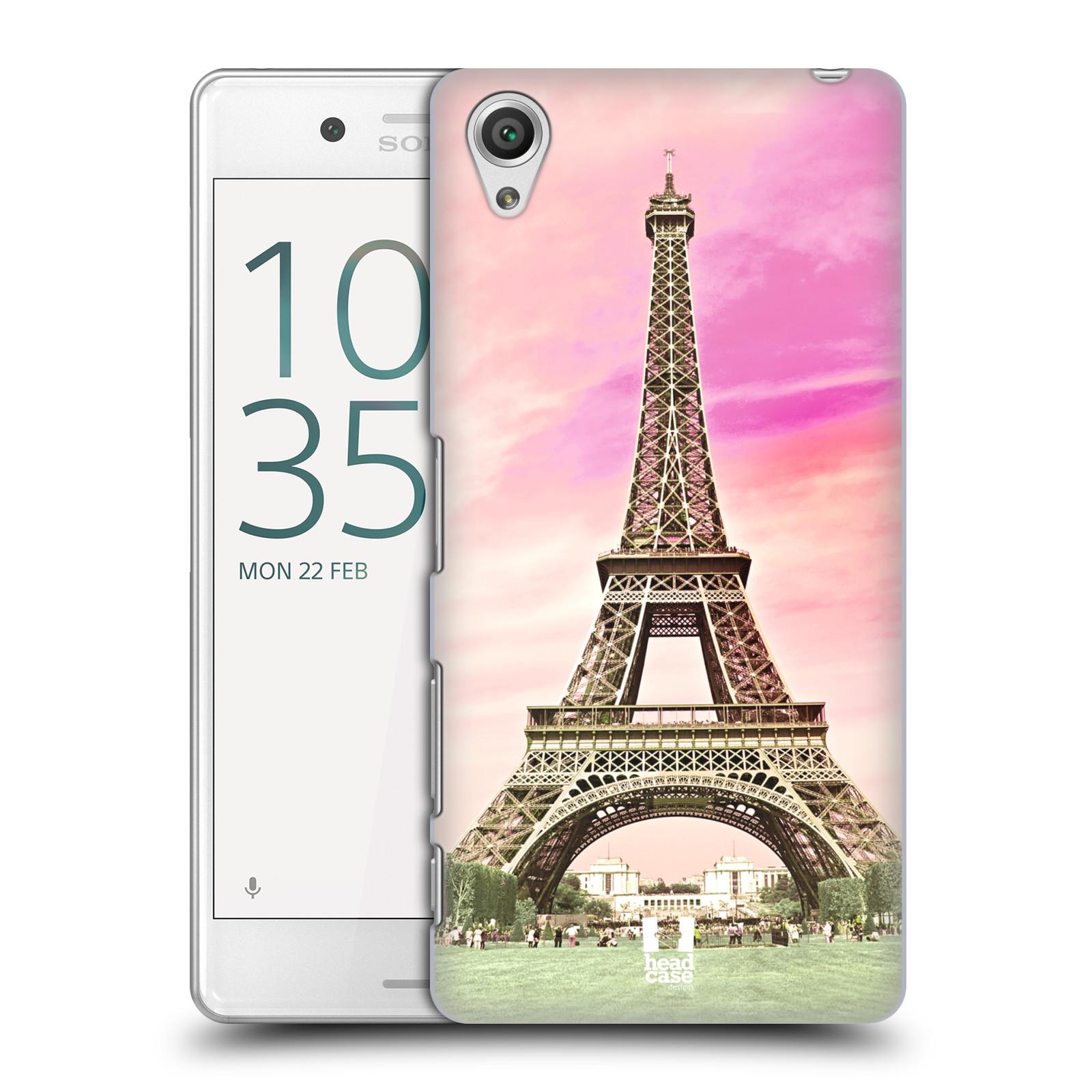 Pouzdro na mobil Sony Xperia X PERFORMANCE - HEAD CASE - historická místa Eiffelova věž Paříž