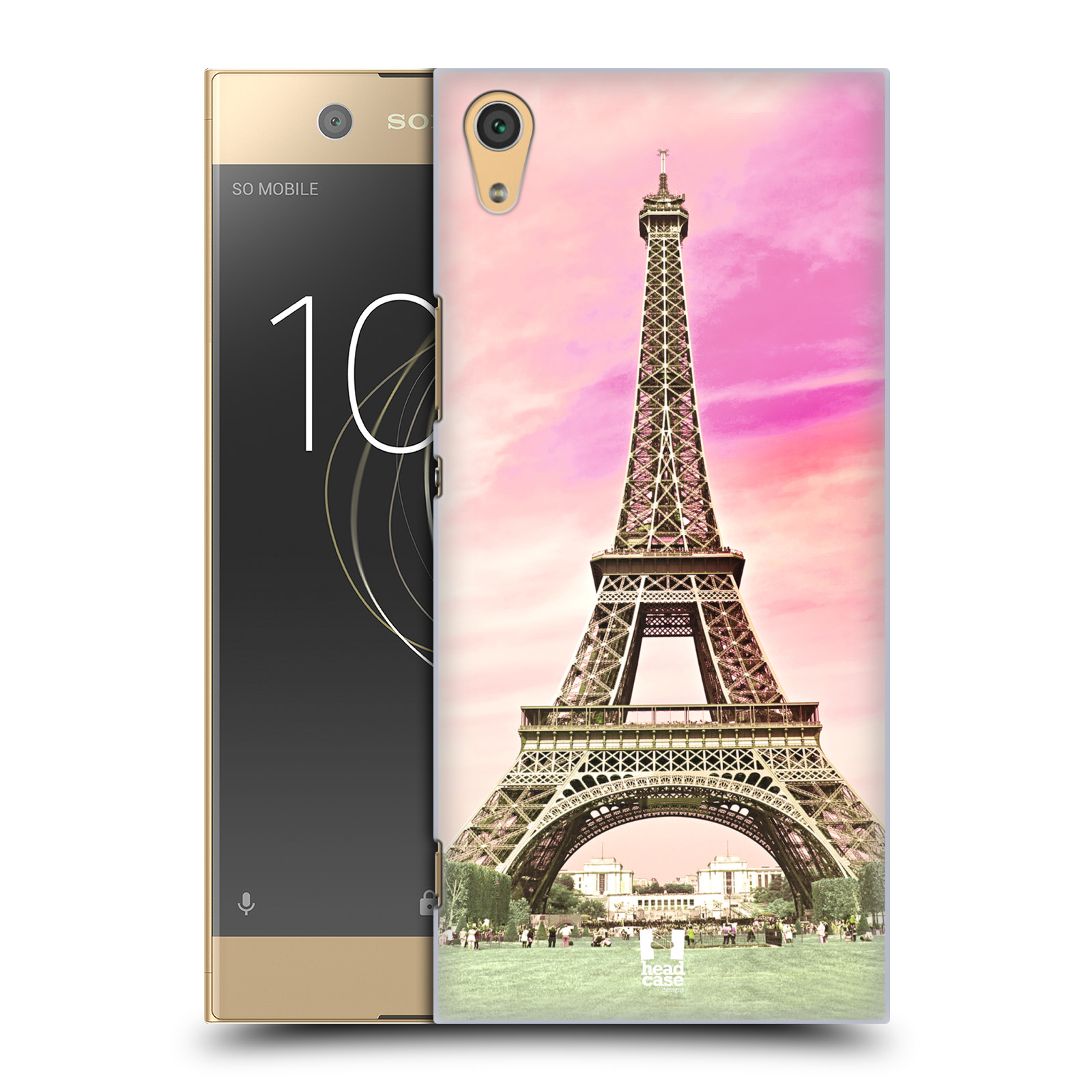 Pouzdro na mobil Sony Xperia XA1 ULTRA - HEAD CASE - historická místa Eiffelova věž Paříž
