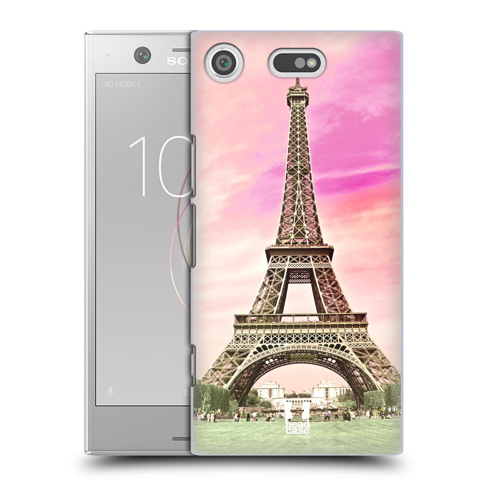 Pouzdro na mobil Sony Xperia XZ1 COMPACT - HEAD CASE - historická místa Eiffelova věž Paříž