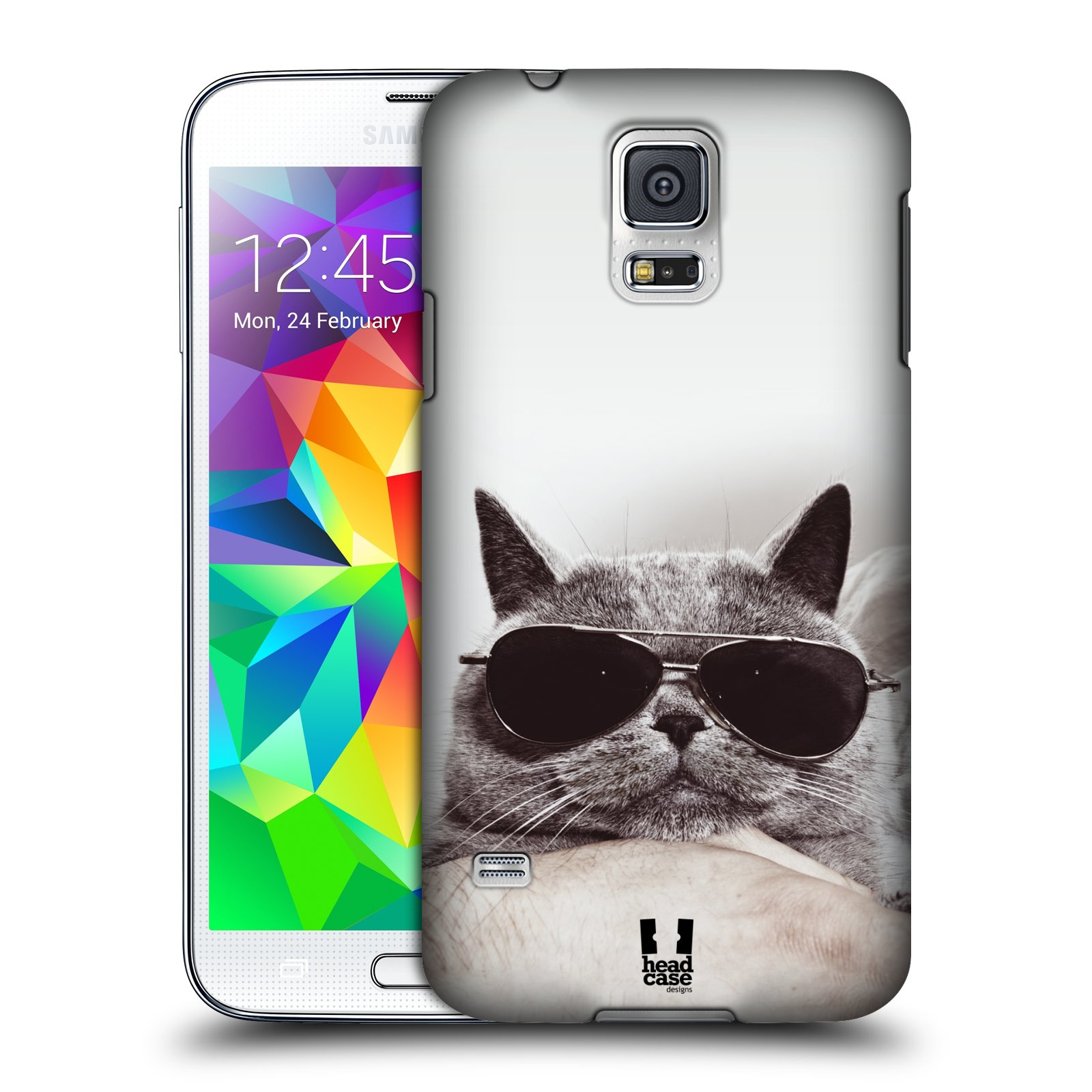 HEAD CASE DESIGNS CATS CASE COVER FOR SAMSUNG GALAXY S5