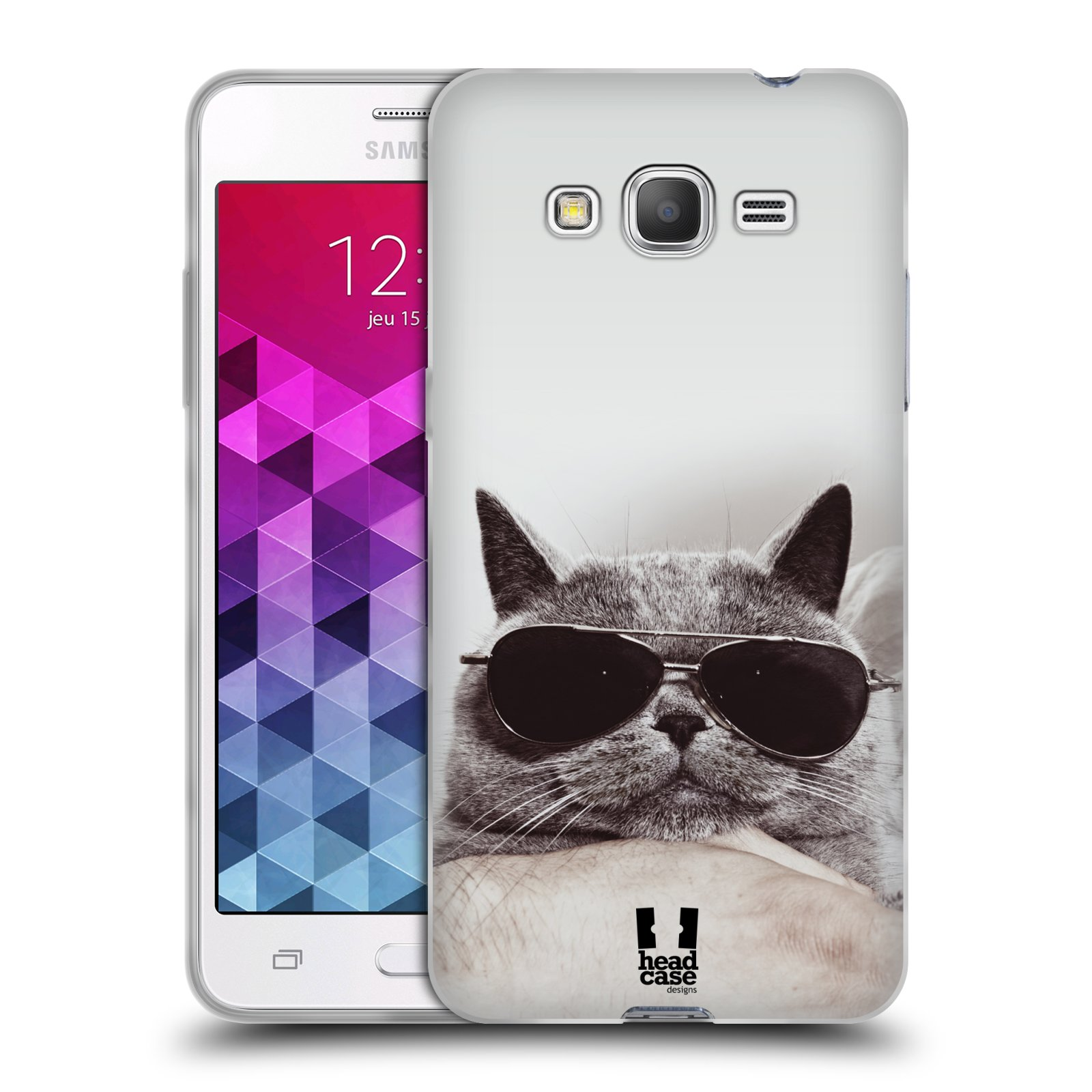 HEAD CASE CATS SILICONE GEL CASE FOR SAMSUNG GALAXY GRAND PRIME 3G DUOS