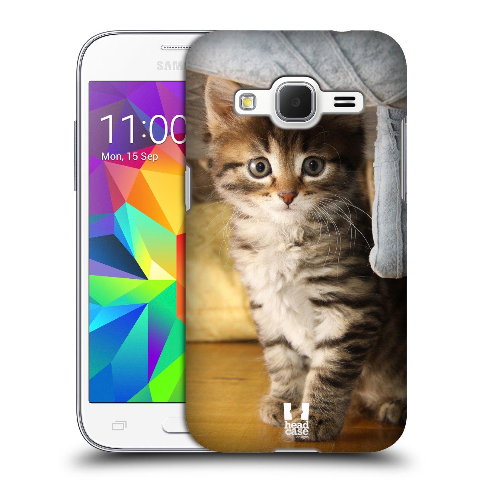 HEAD CASE plastový obal na mobil SAMSUNG GALAXY Core Prime (Core Prime VE) vzor Kočičky koťata foto mourek