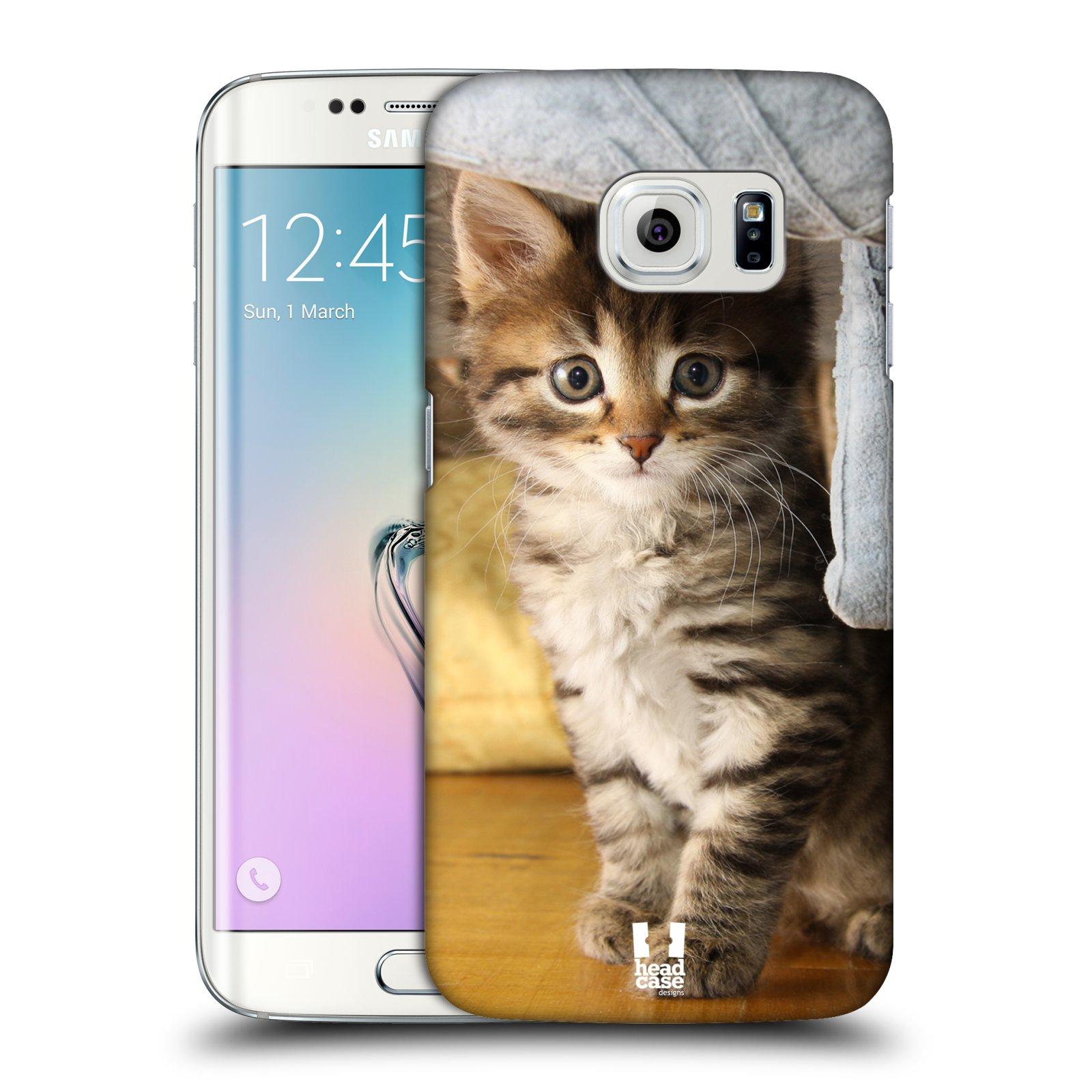 HEAD CASE plastový obal na mobil SAMSUNG Galaxy S6 EDGE (G9250, G925, G925F) vzor Kočičky koťata foto mourek